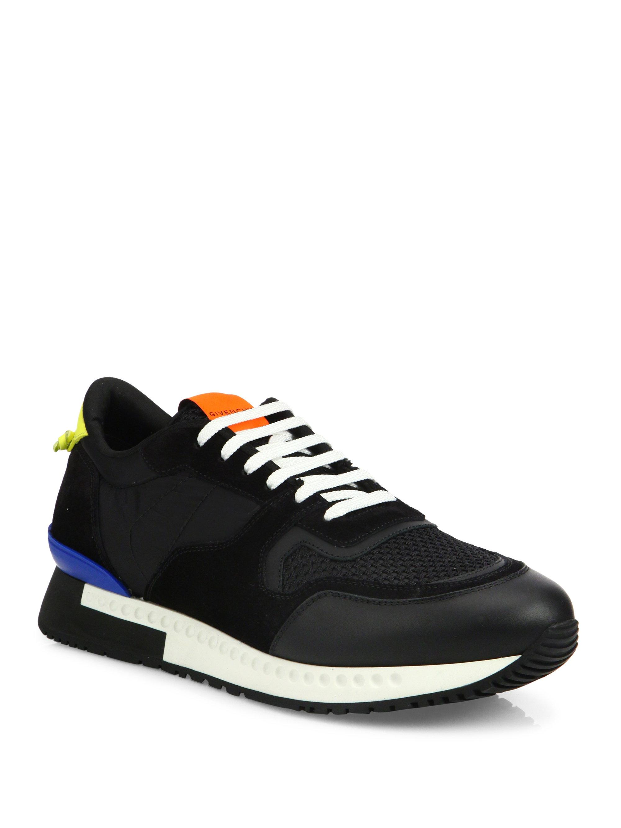 GivenchyActive Runner Lace-Up Sneakers nZ9pXg