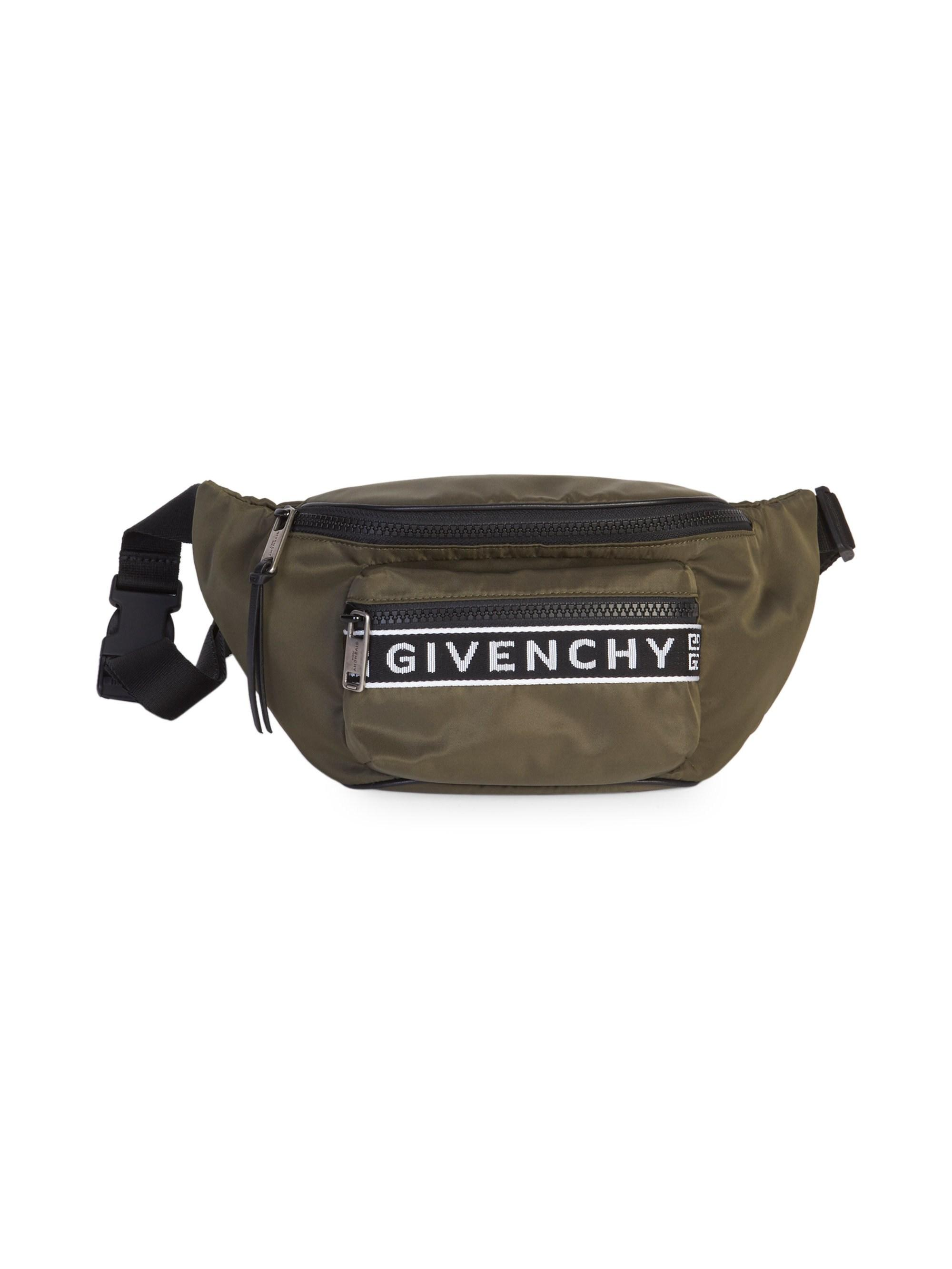d15b4c1b8b Lyst - Givenchy Men s 4g Bum Bag In Nylon - Khaki for Men