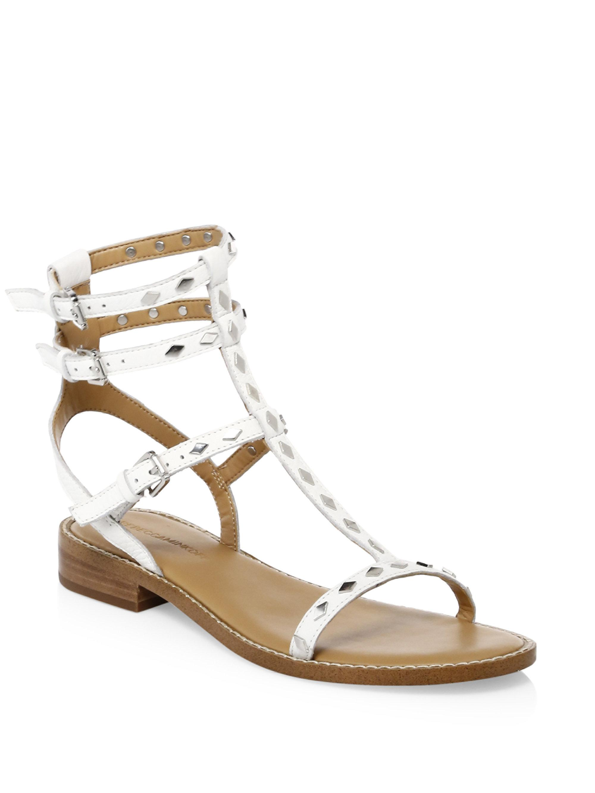Rebecca Minkoff Stud-Embellished Gladiator Sandals discount perfect buy cheap factory outlet online shop from china 7UDaQlxXW