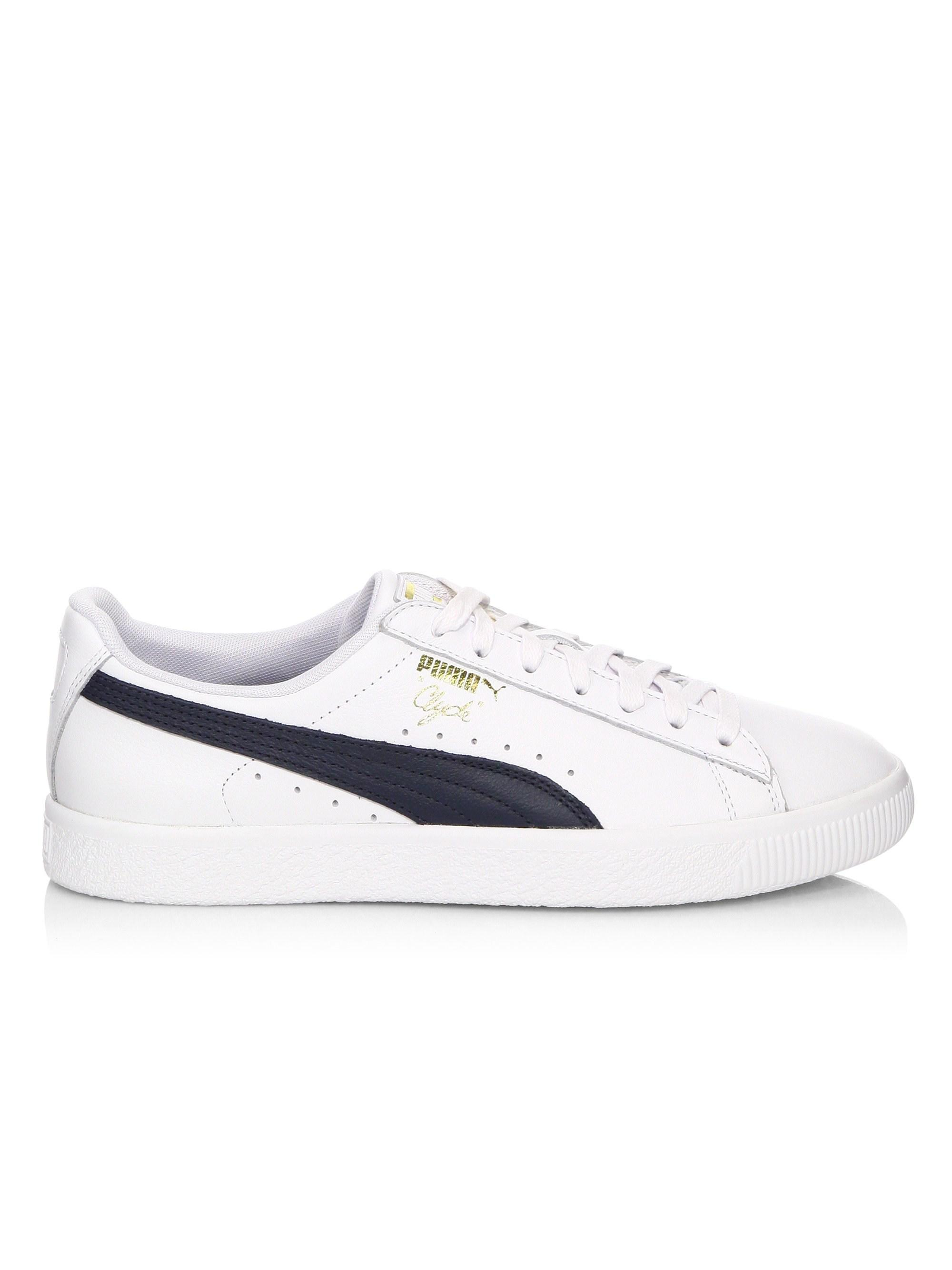 Lyst - PUMA Men s Clyde Core Sneakers - White - Size 9 in White for Men c02087958