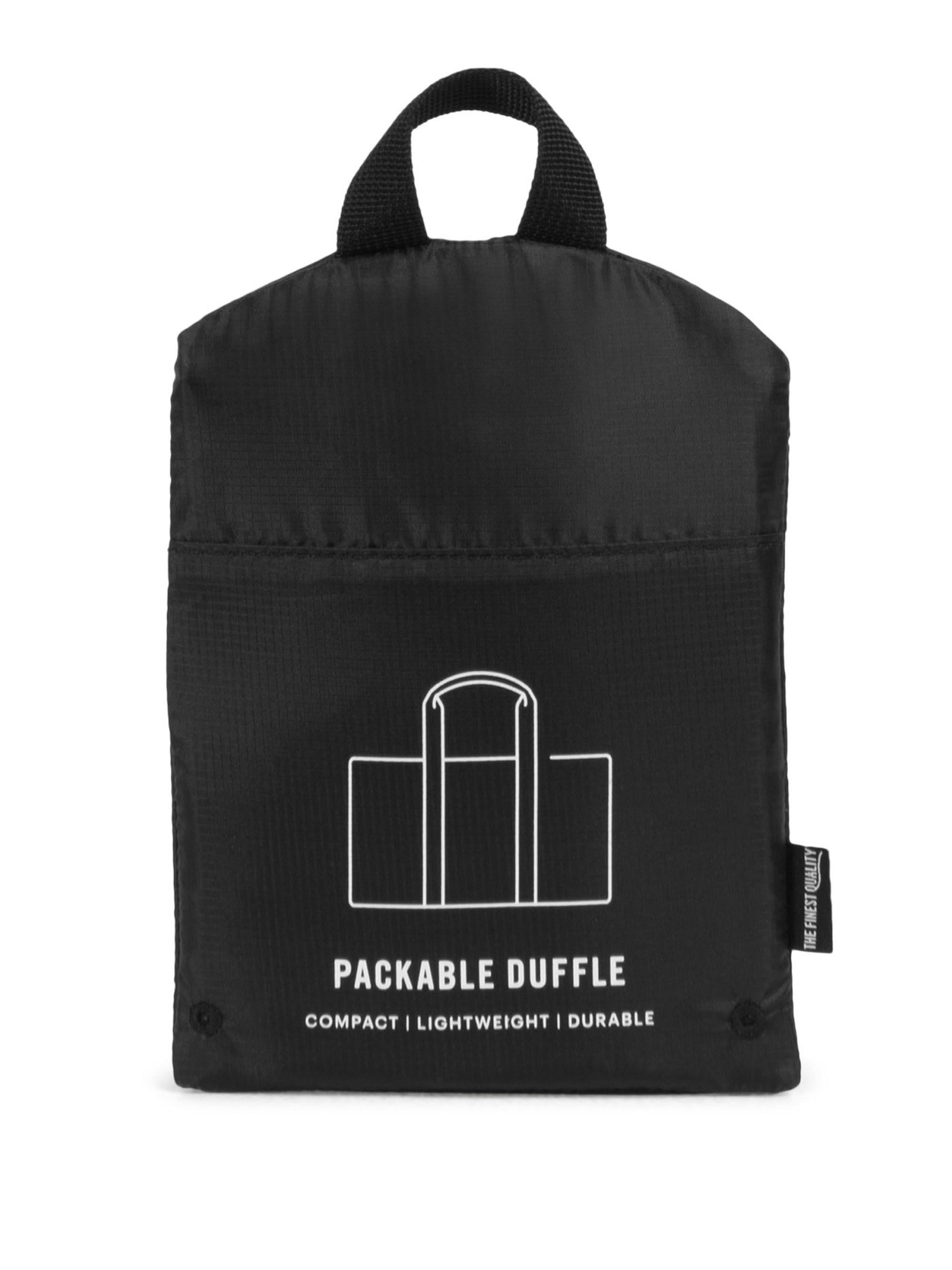f0d1be1fc959 Herschel Supply Co. Packables Packable Duffel Bag in Black for Men ...