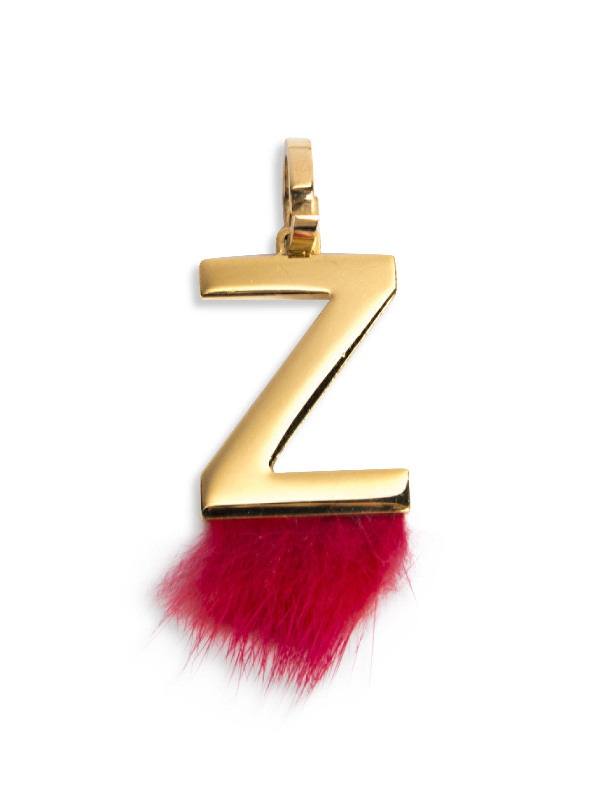 Womens Red Mink Fur-trimmed Initial Charm sale retailer 2324f 549c2   Gallery. Previously sold at Farfetch · Womens Fendi Bag Bugs ... c3b0bc1d7dc03