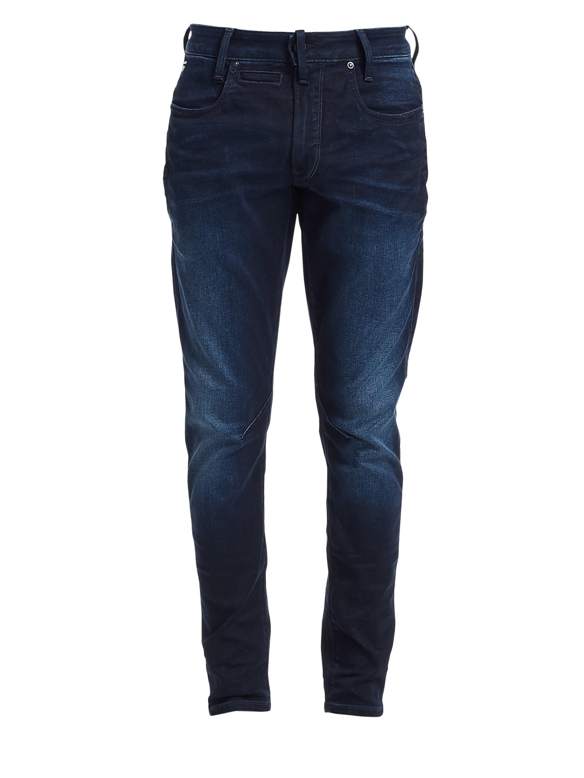 347ce31e0cc26d Lyst - G-Star RAW Men's Staq 3d Skinny Jeans - Dark Aged - Size ...