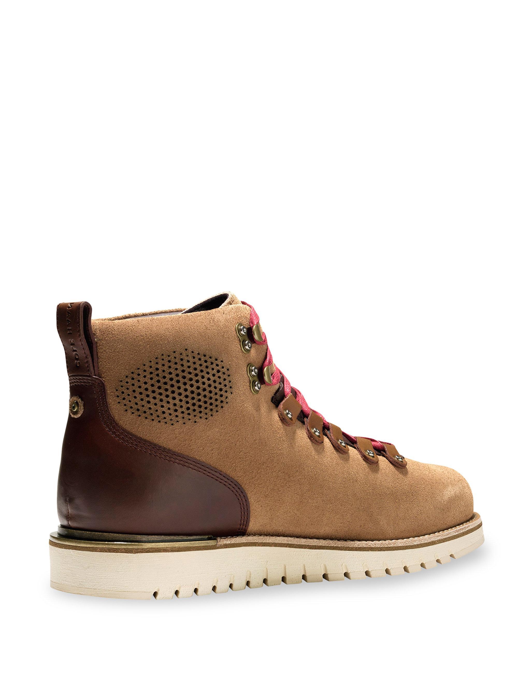Cole Haan Levett Leather Hiker Boots JGYoJkiXH