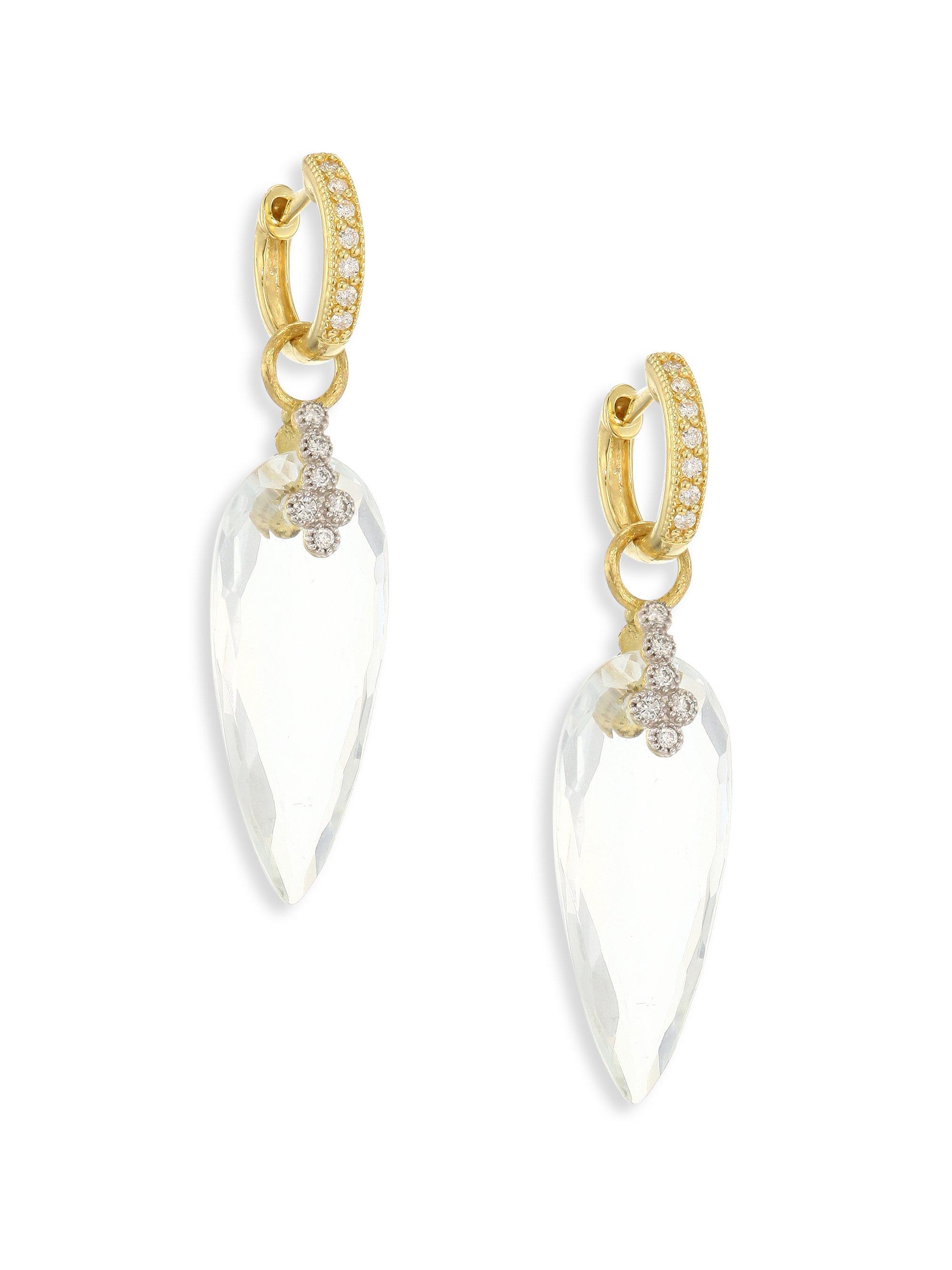 79061b2c73b Lyst - Jude Frances Provence Champagne Diamond   White Topaz ...