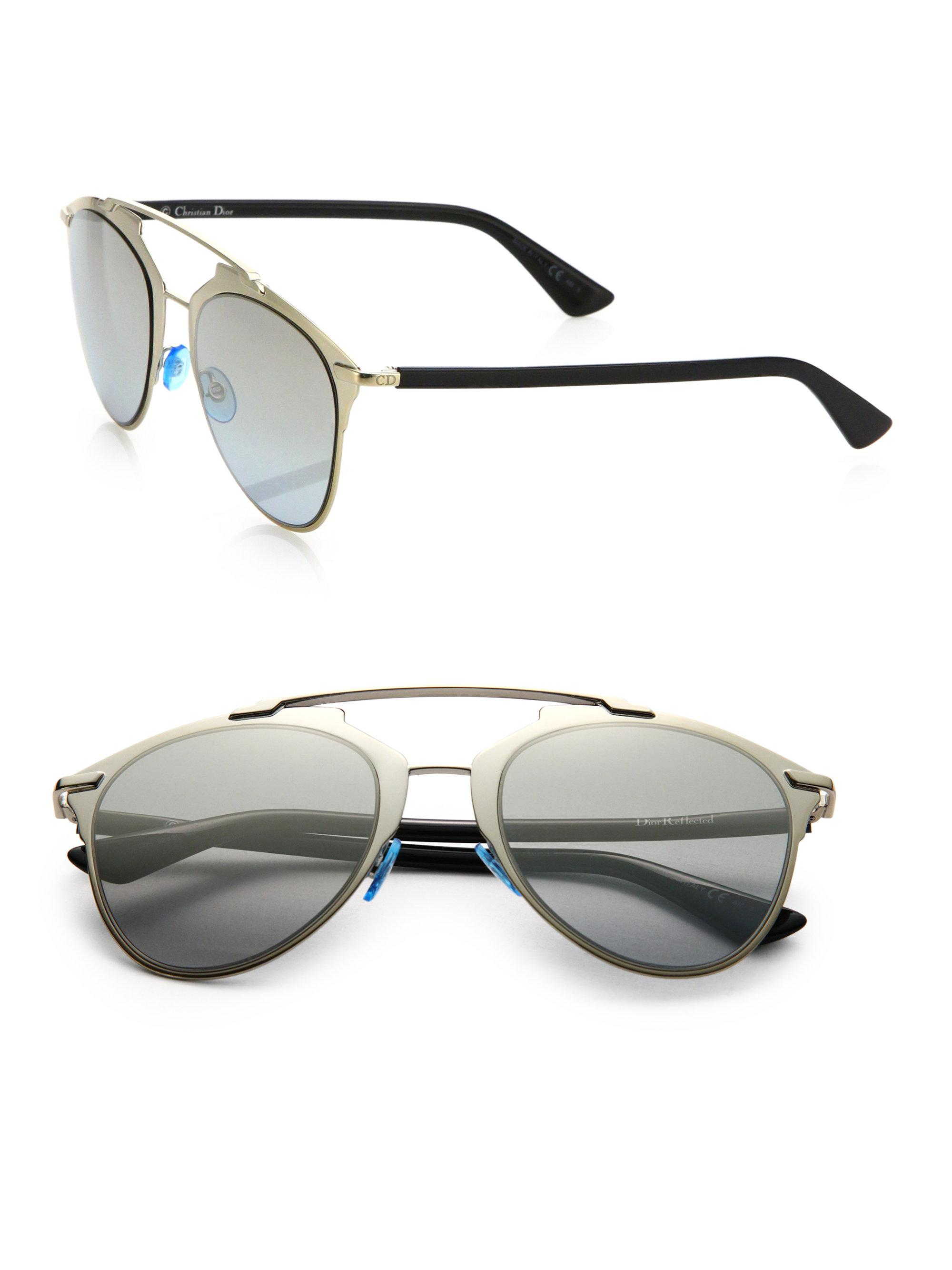 7da9776ccb9db9 Dior Reflected 52mm Modified Pantos Sunglasses in Black - Save ...