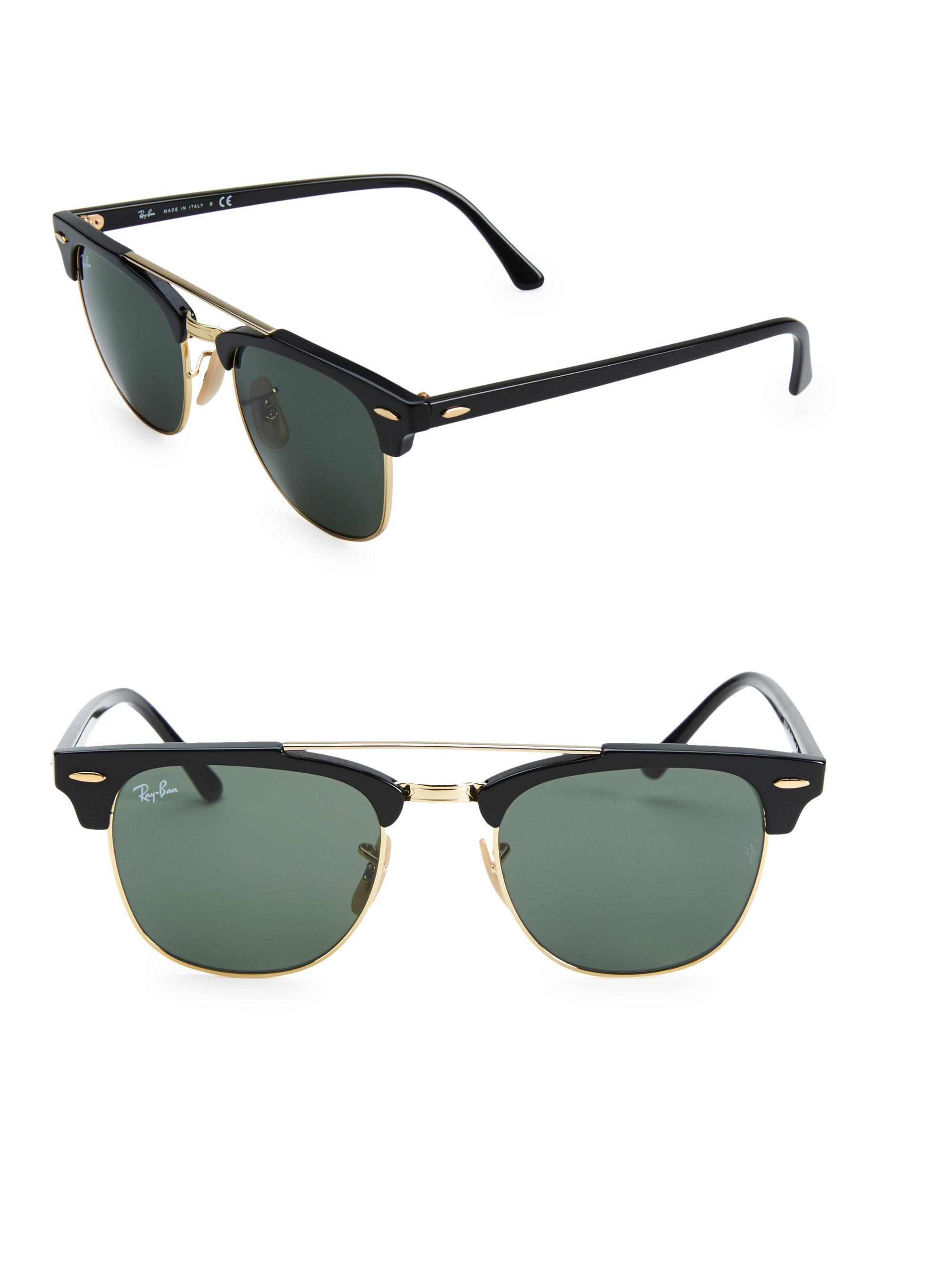 030537f10d Gallery. Previously sold at: Saks Fifth Avenue · Men's Ray Ban Clubmaster