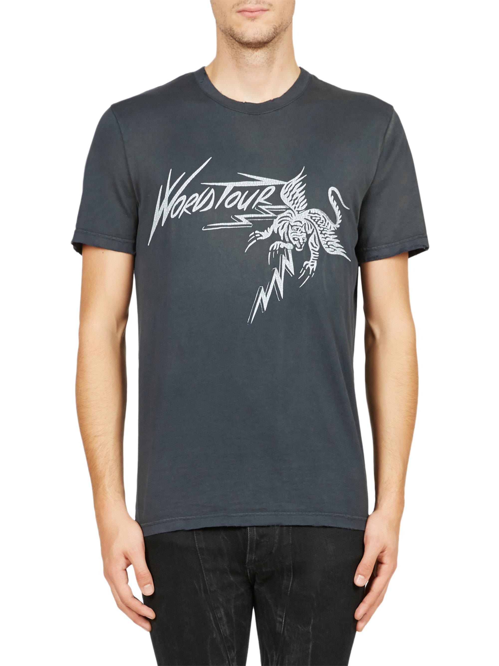 oversized World Tour T-shirt - Black Givenchy For Cheap Cheap Online oyGiI22