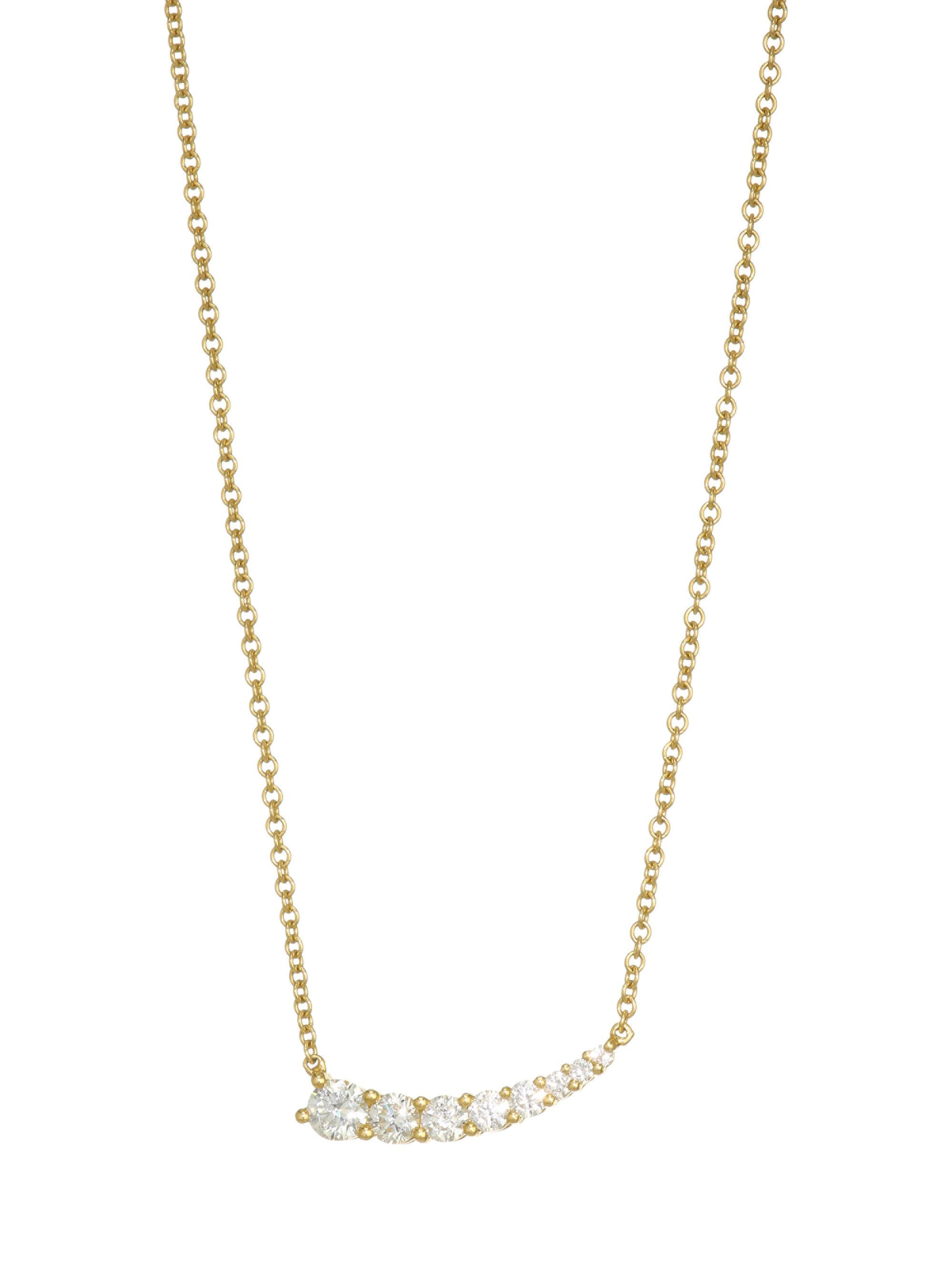 co m shane diamond necklaces in p graduated necklace