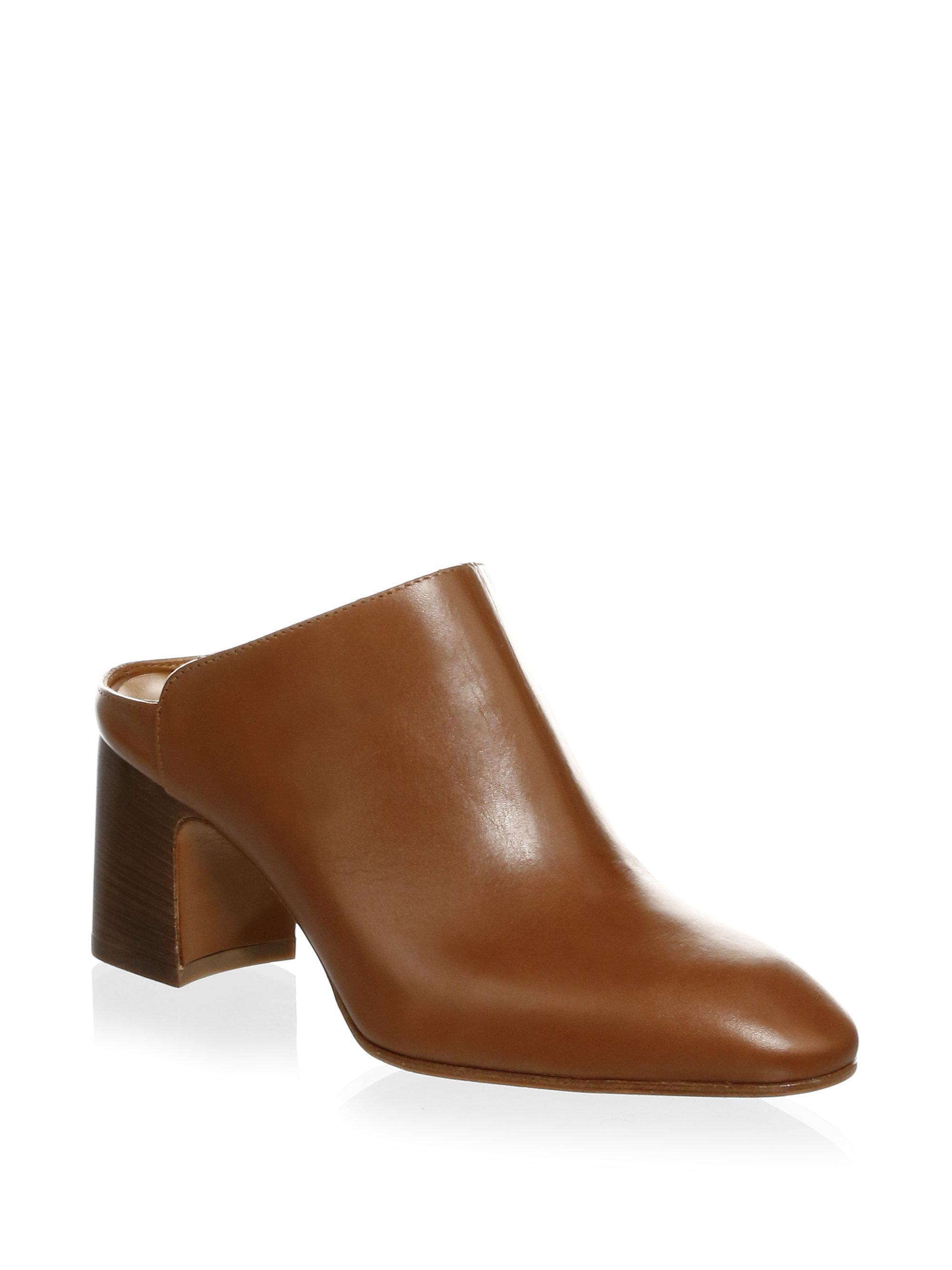 Pre-owned - Leather mules & clogs Aquatalia a2UAuMt