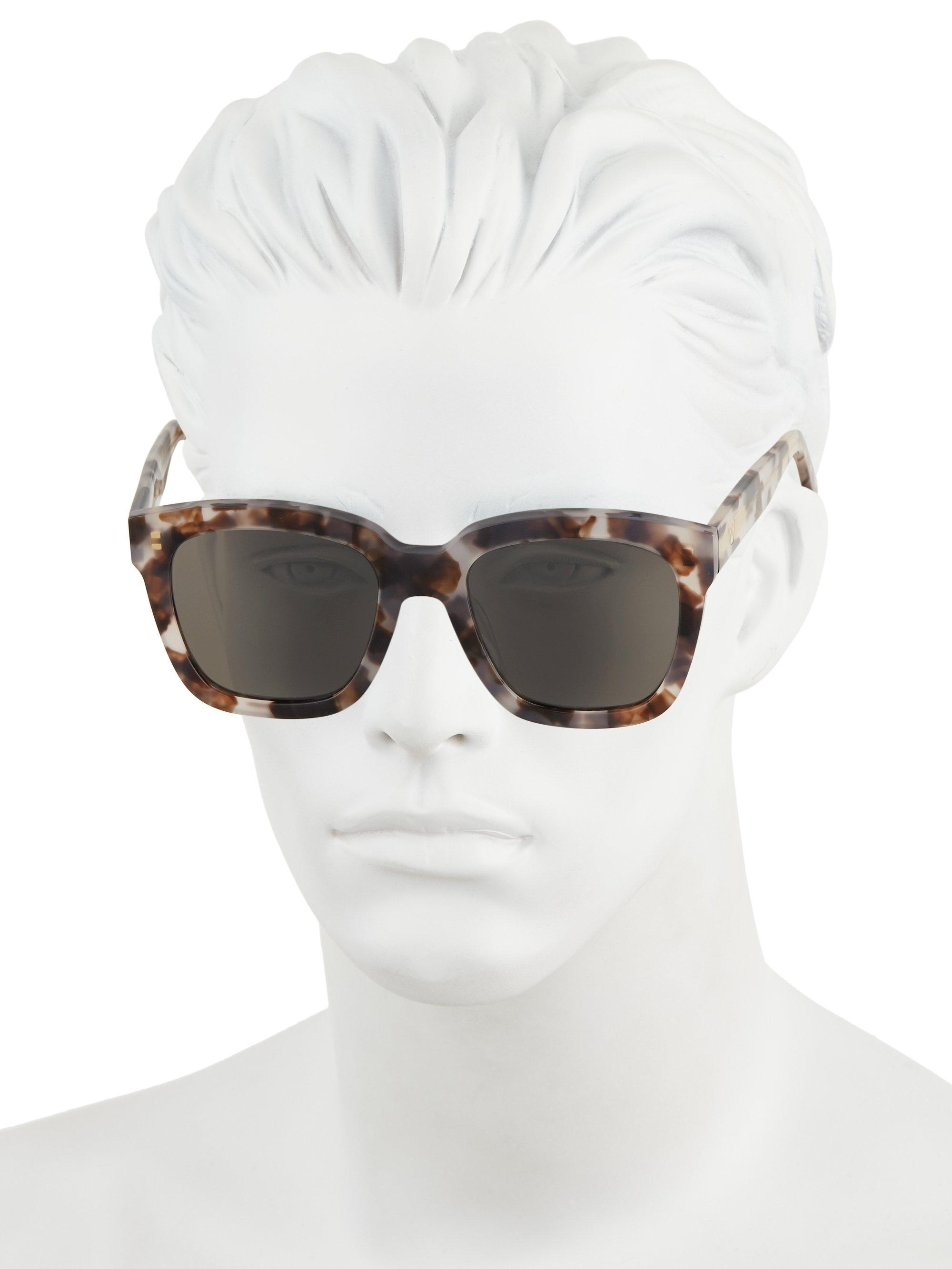4b7d3ba4013c Lyst - Gentle Monster Dreamer Hoff Patterned Square Sunglasses in ...