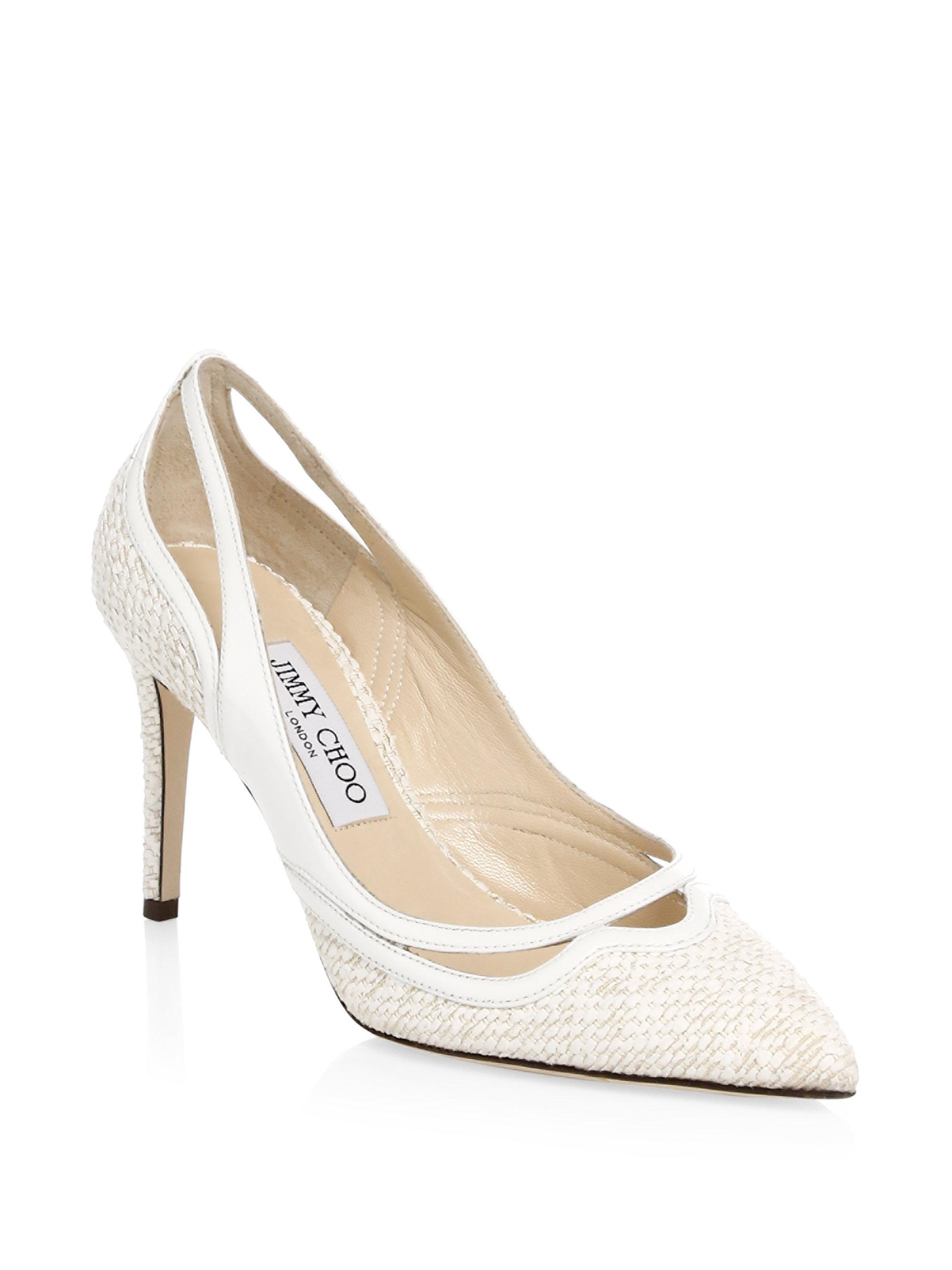 7ce04662cc7 Jimmy Choo - Multicolor Hickory Point-toe Pumps - Lyst. View fullscreen
