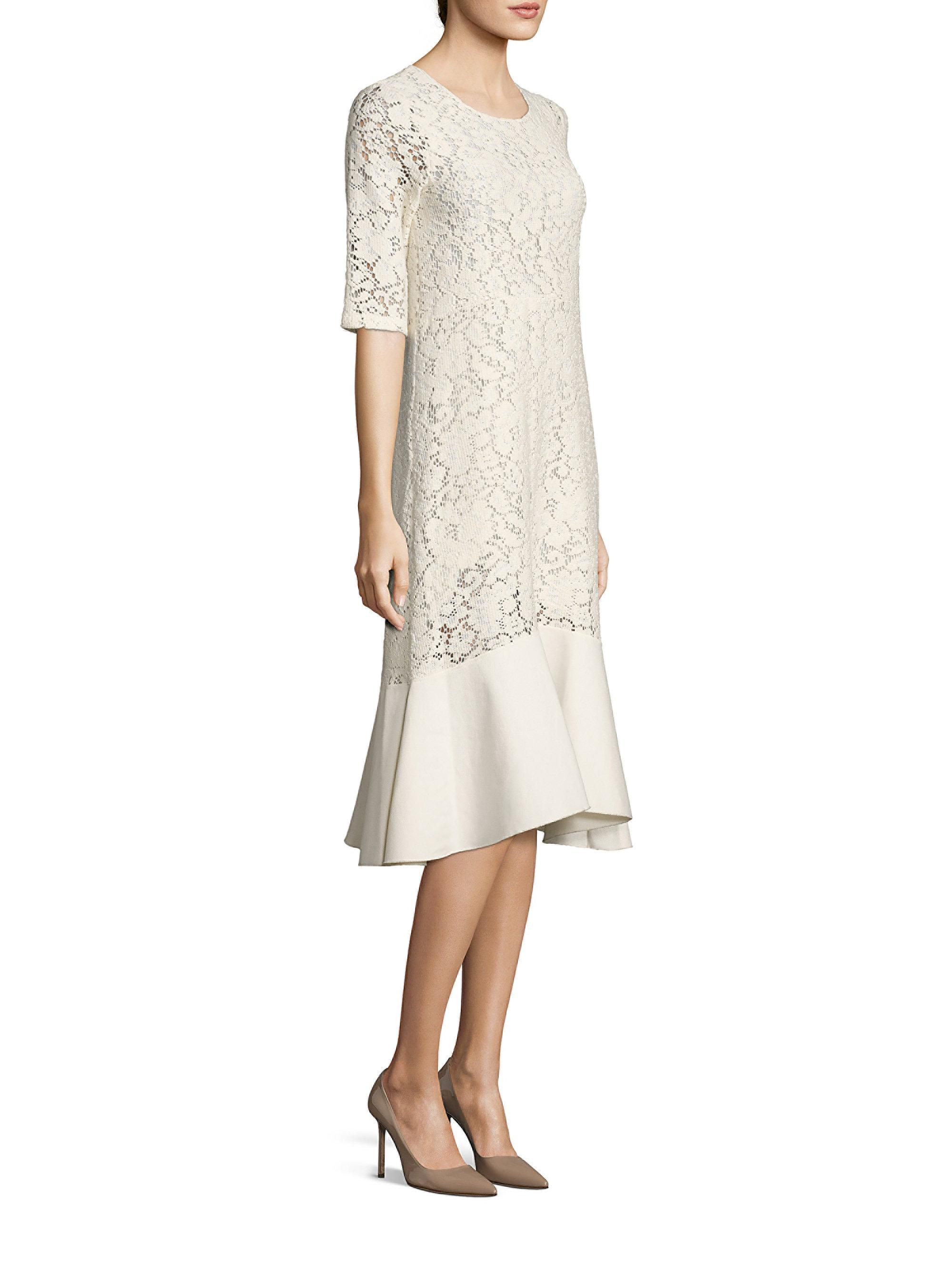 Finishline Pick A Best See By Chloé ruffle trim dress Sale Marketable Buy Cheap Explore 5c0STee