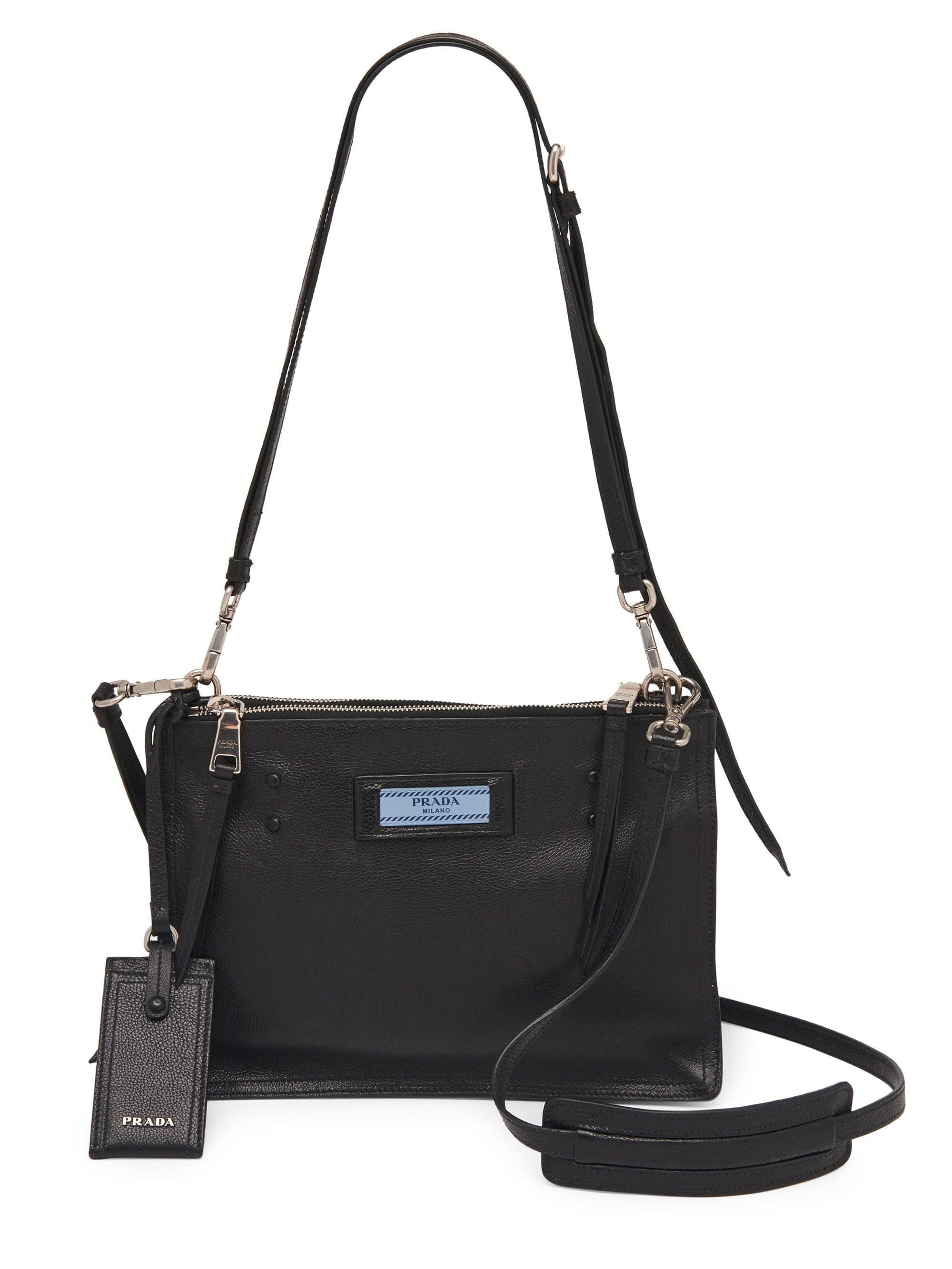 Body Para astralo Damas Black Nero Messenger Prada Bags Etiquette Bag Cross q4Td78wq
