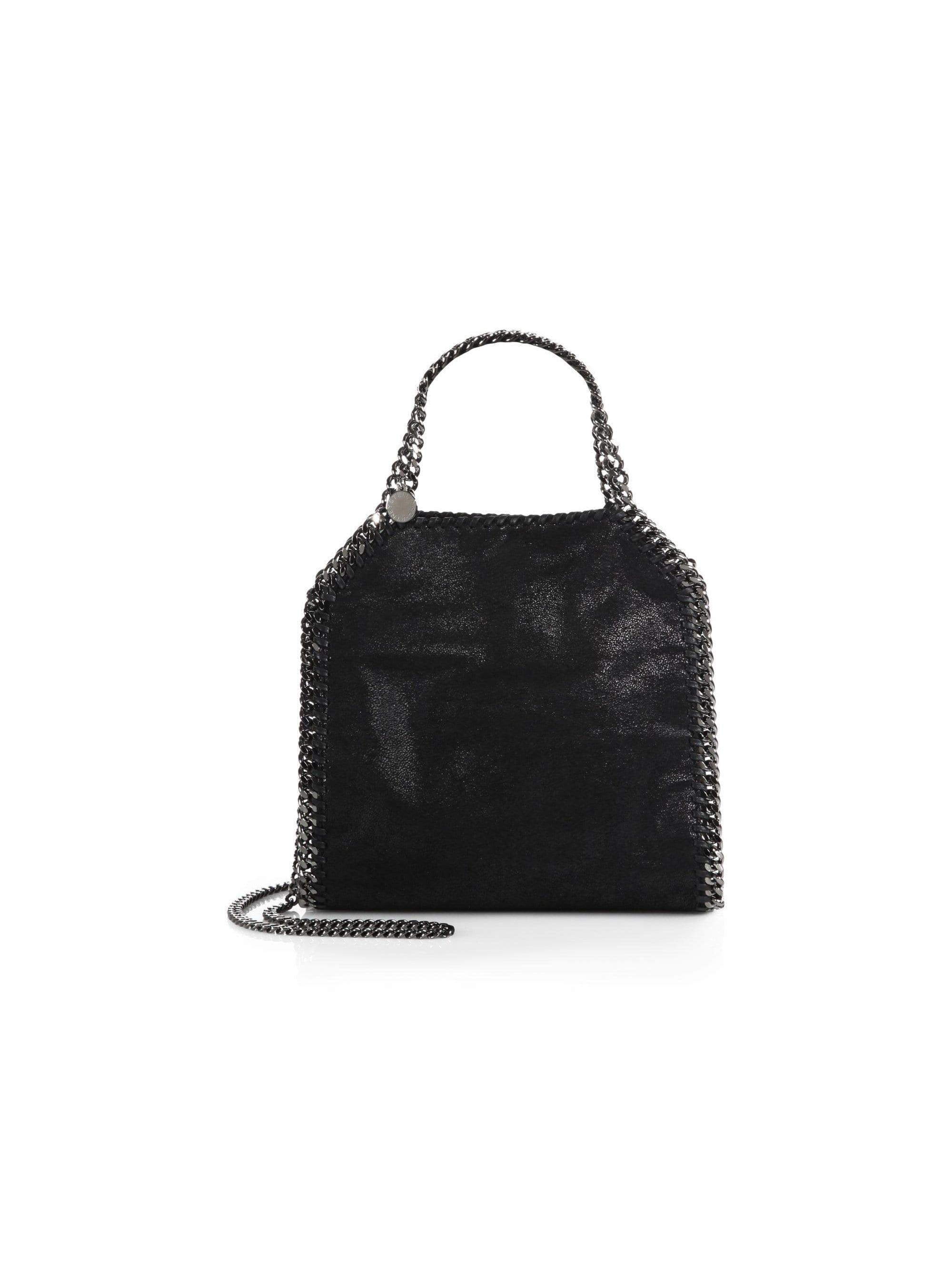 1fc2186aa4 Lyst - Stella McCartney Women s Mini Baby Bella Shoulder Bag - Black ...