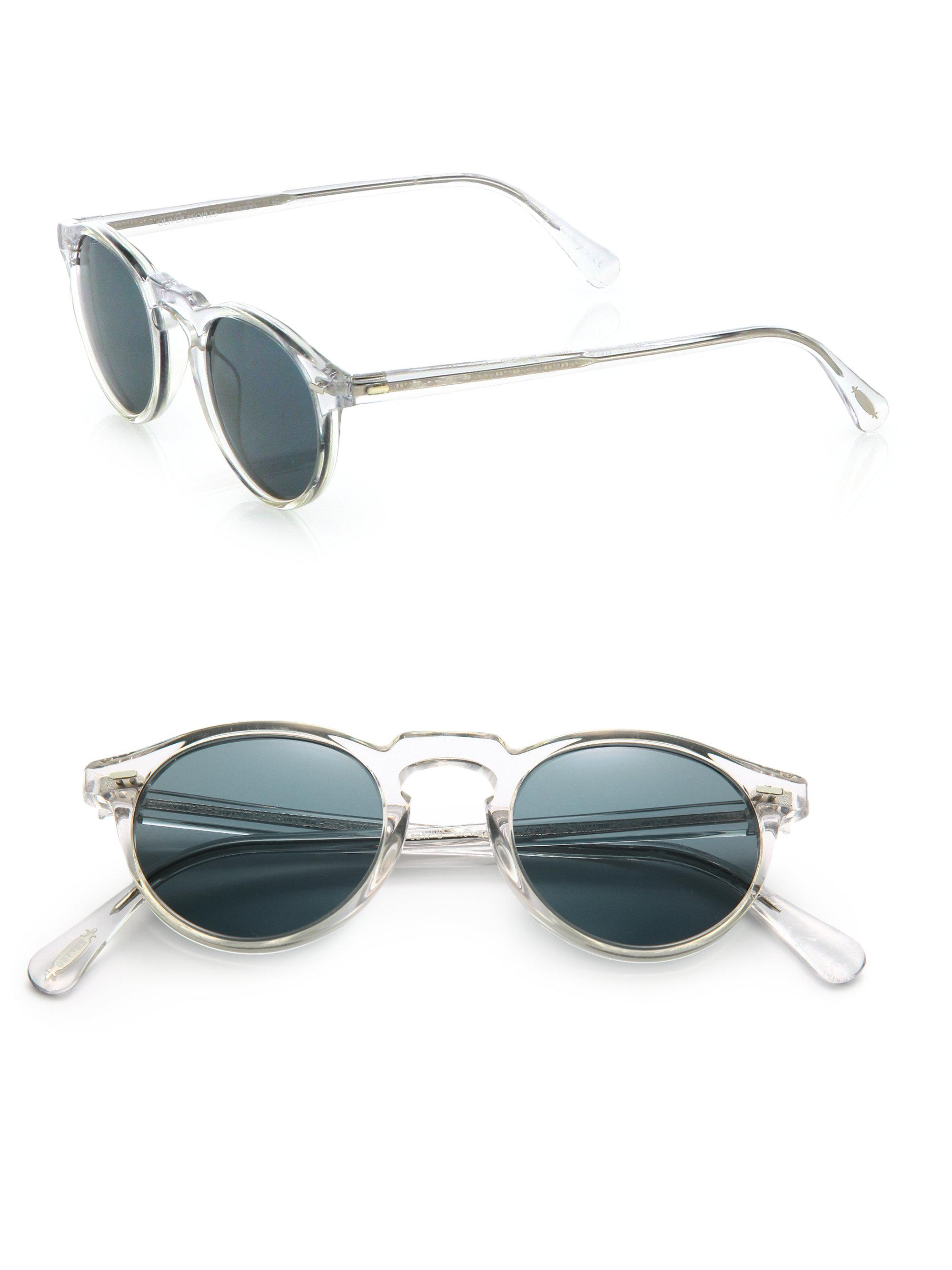 02812af948 Oliver Peoples Men s Gregory Peck 47mm Acetate Sunglasses - Lucite ...