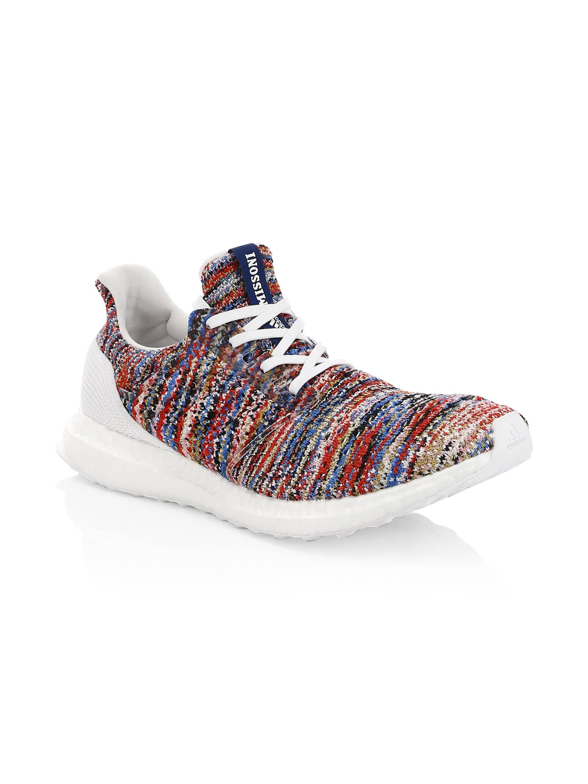 finest selection be719 9cfbd adidas By Raf Simons Men s Ultraboost Clima X Missoni Knit Runners ...