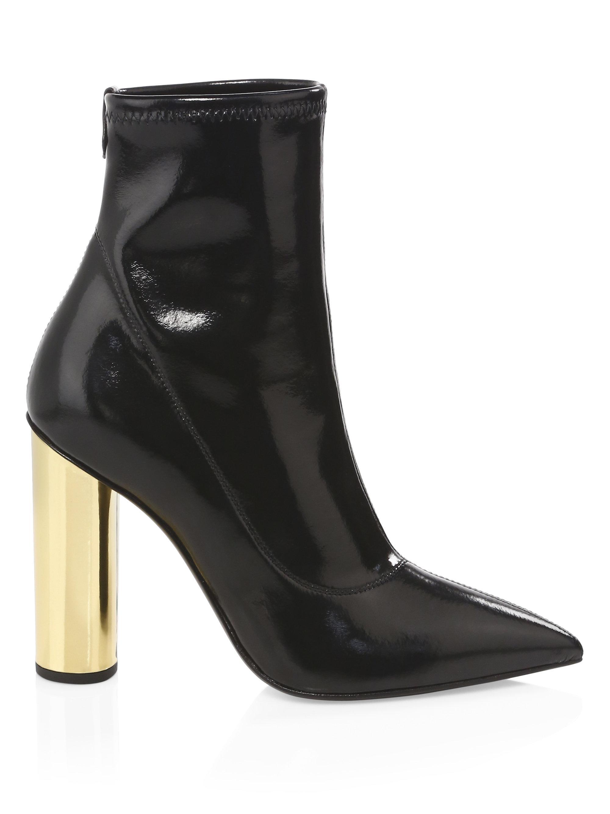 Giuseppe Zanotti Crudelia Leather Booties sPtYnshFg