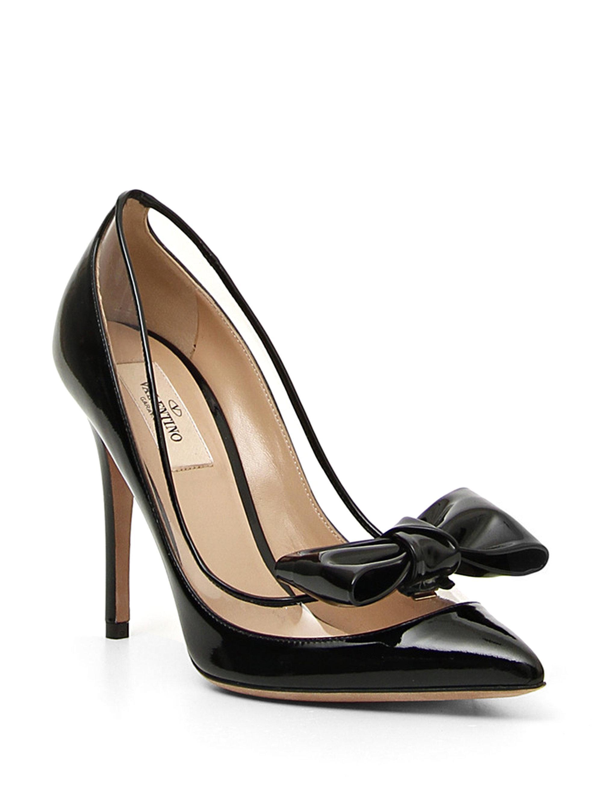 Valentino Tan Dolly Platform Heels