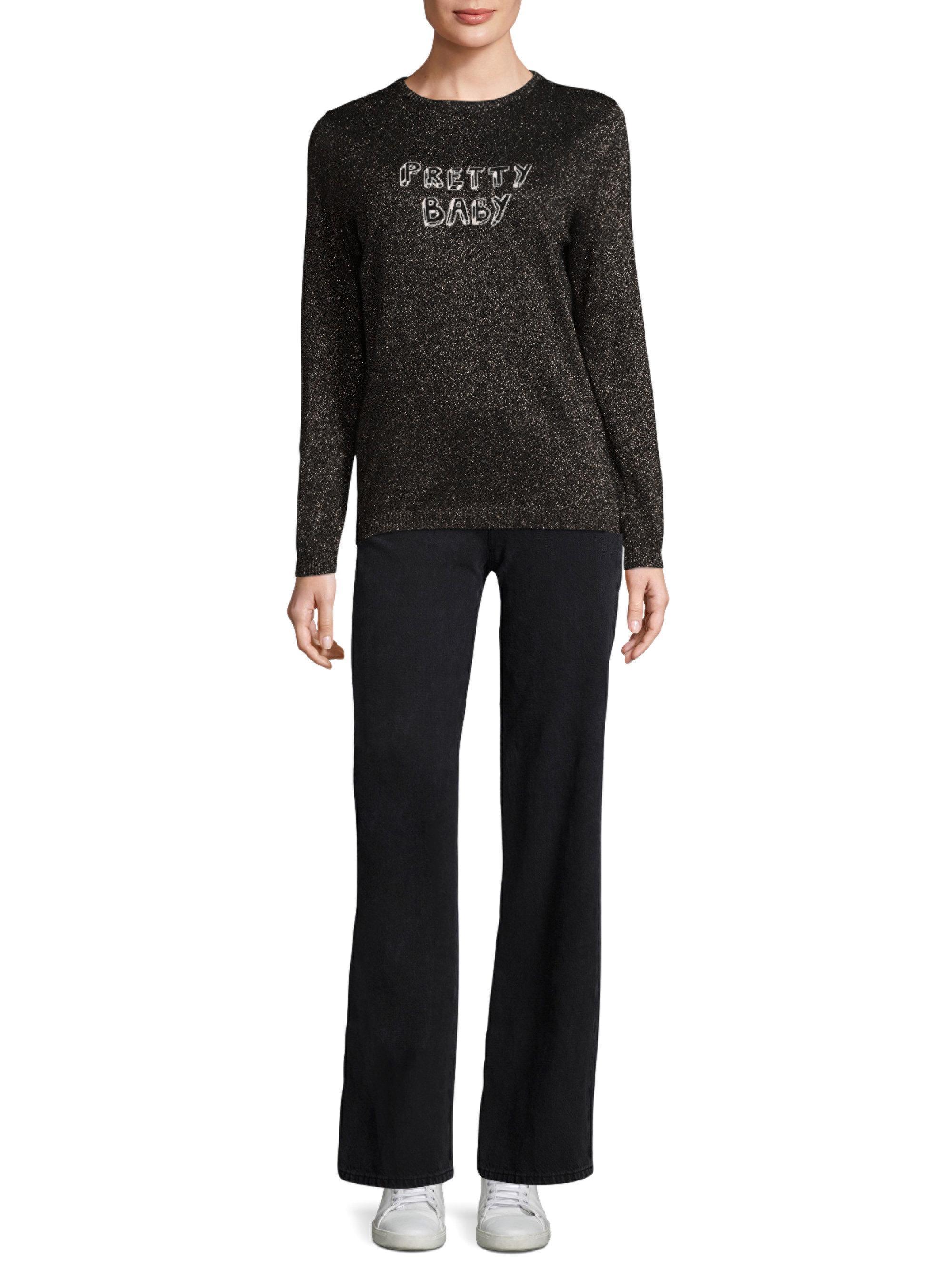 d4136afa3 Lyst - J Brand Bella Freud X Pretty Baby Sweater in Black