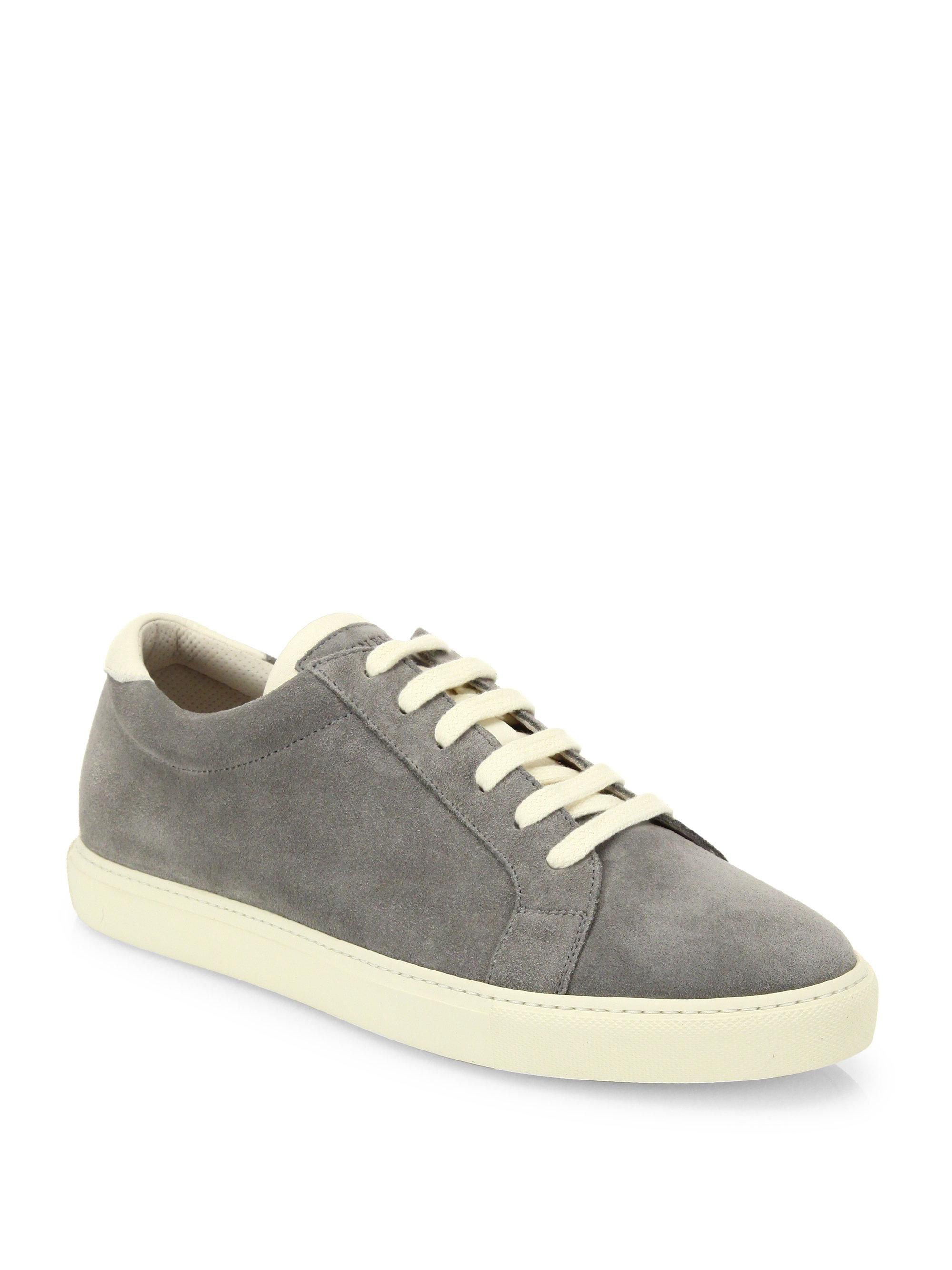 Velvet and suede sneakers Brunello Cucinelli bxH6LGr