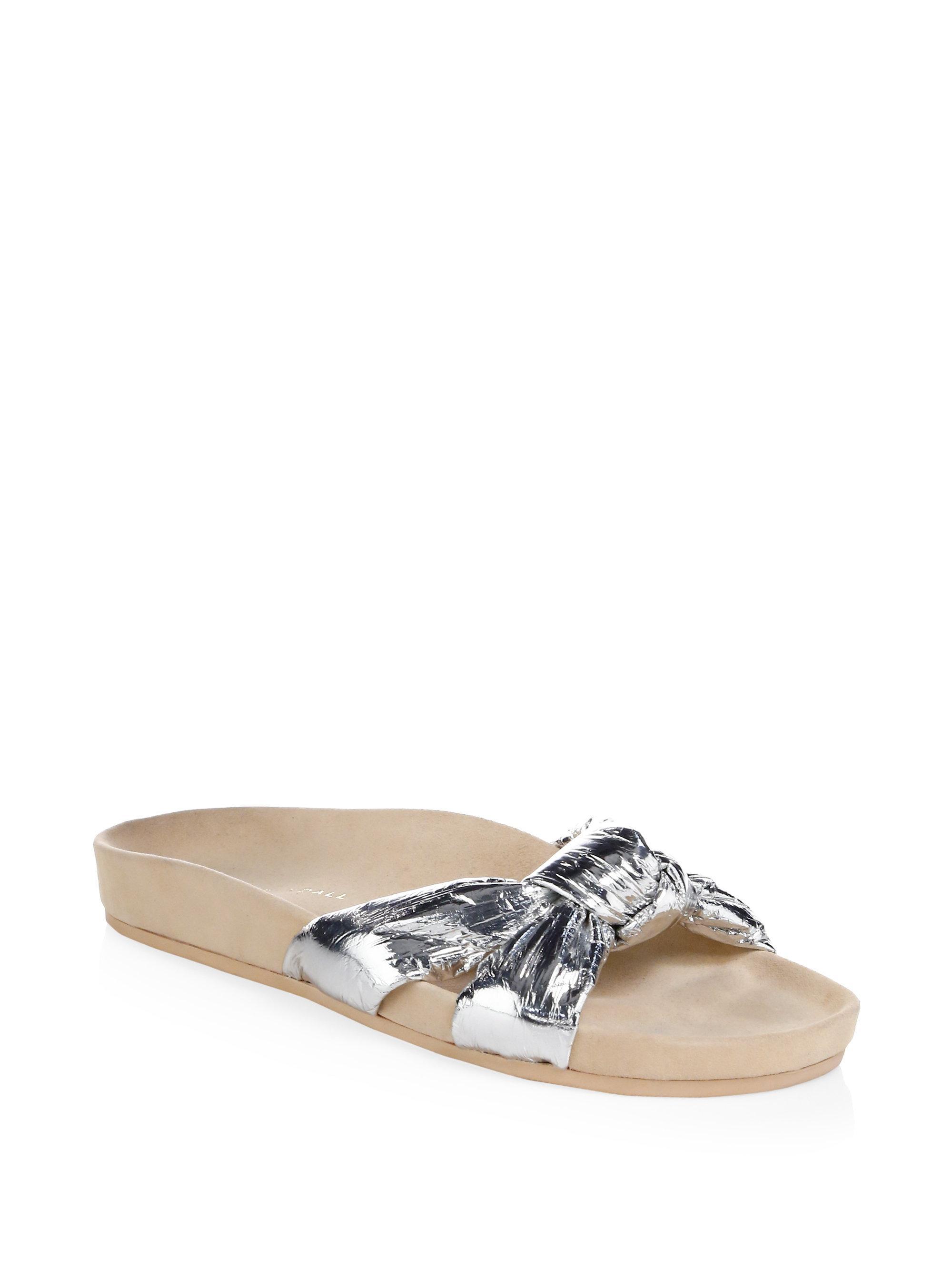 Loeffler Randall Gertie Metallic Sandals Hv8ZIOw