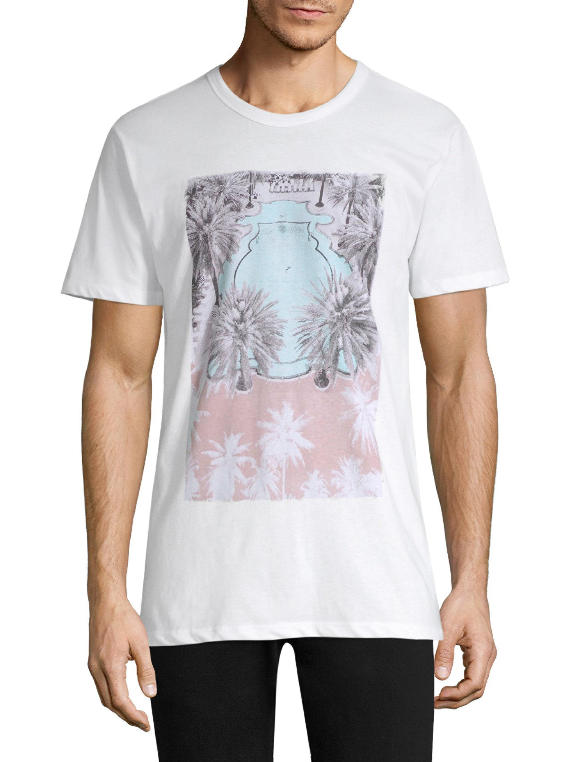 Onia Johnny Printed Cotton-blend Jersey T-shirt - Forest green Cheap Price Pre Order Extremely Exclusive Natural And Freely CJytZfP