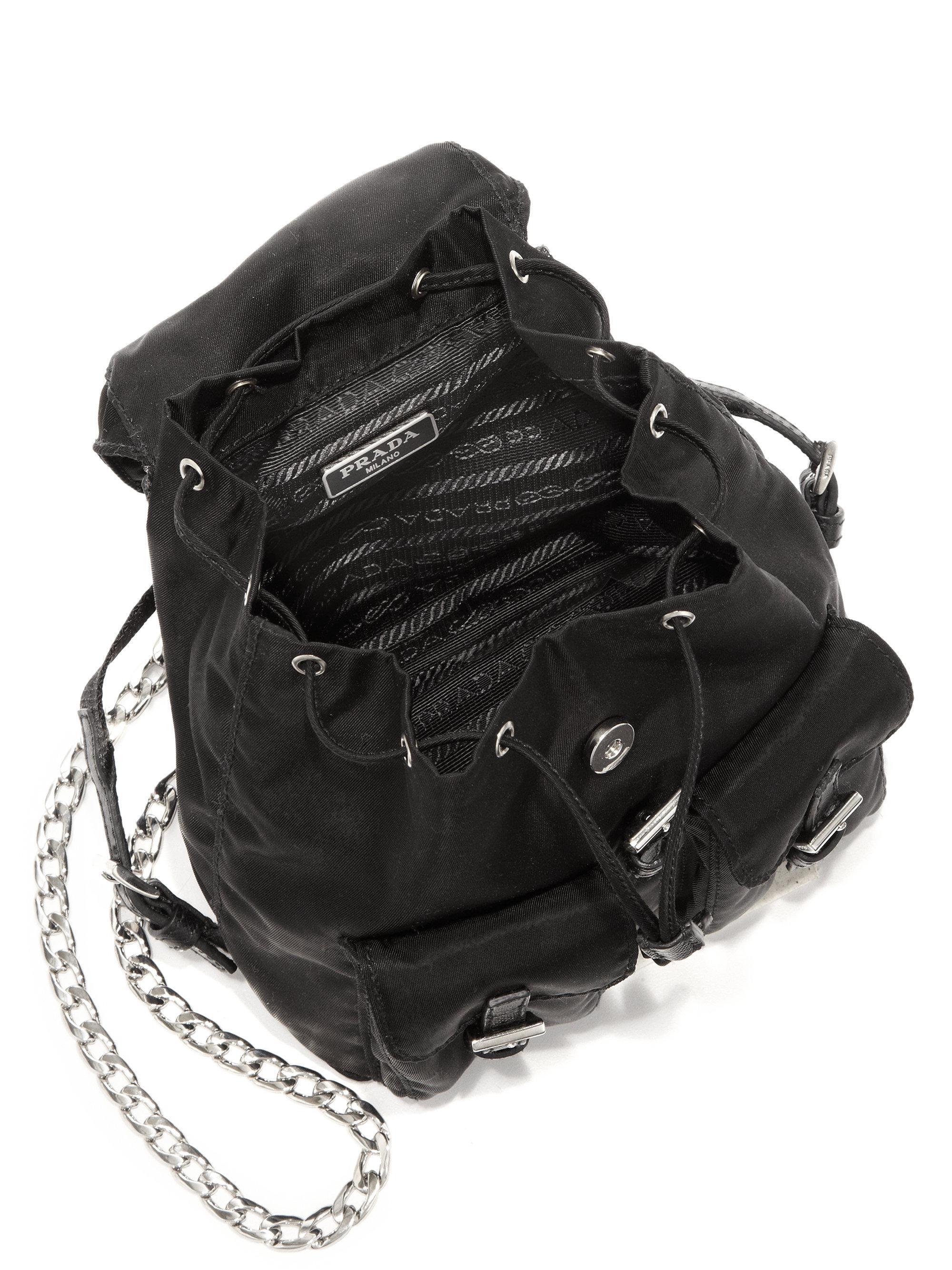933695602e60ed ... get prada vela mini crossbody backpack bag db20e bcb95