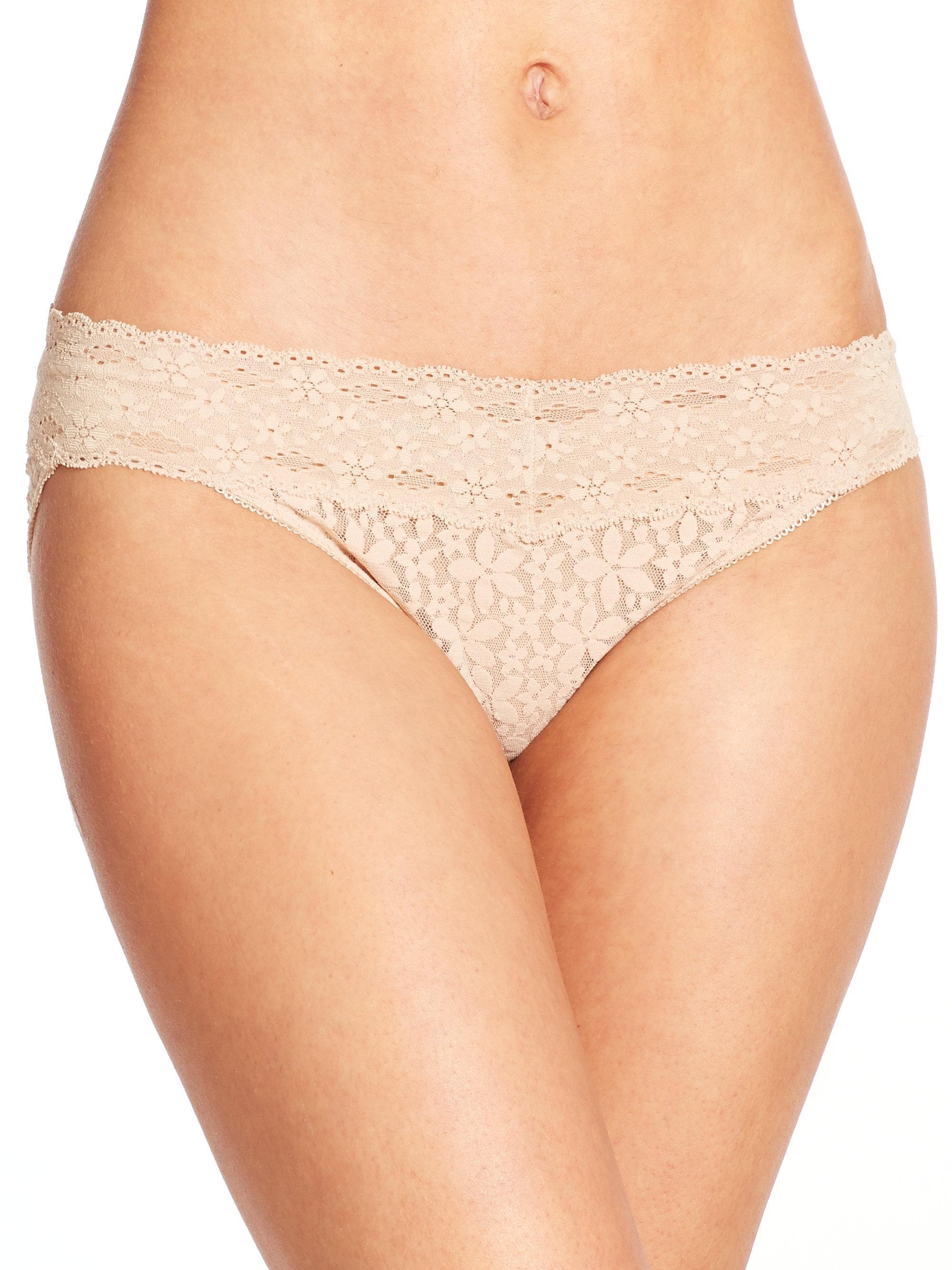 Halo lace bikini panty wacoal rather