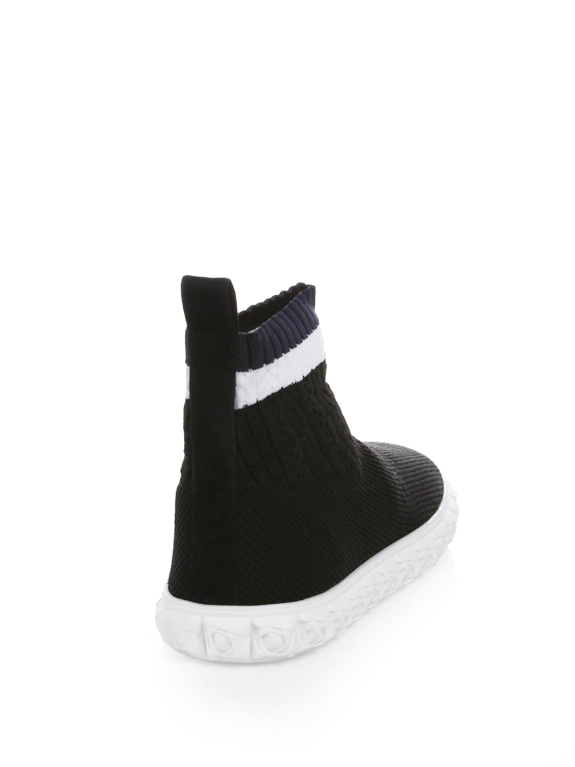 Stuart Weitzman Coverall High-Top Sock Sneaker TCXKDT29fs