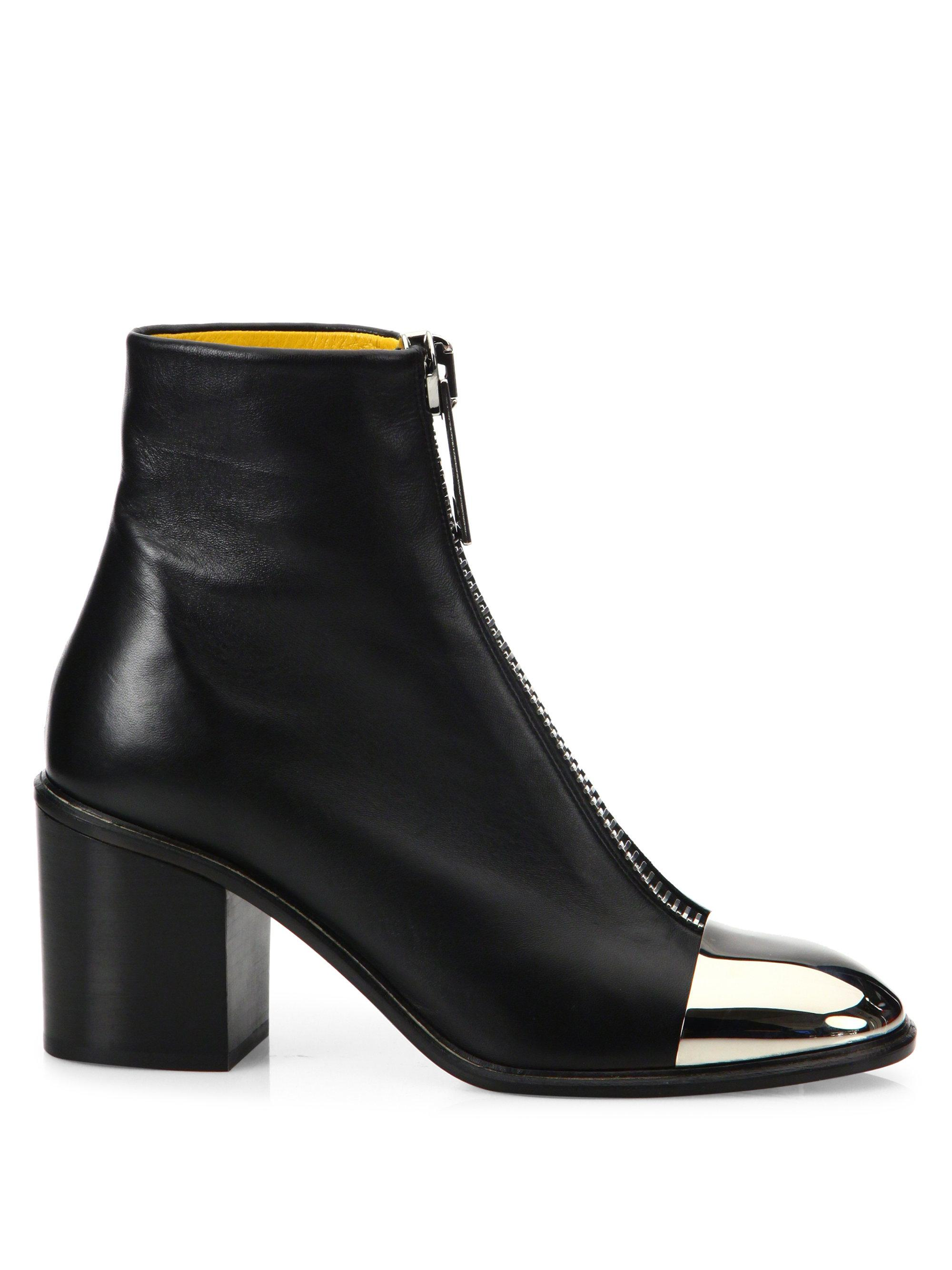 Proenza Schouler Leather Pointed-Toe Ankle Boots great deals cheap price 8Pxcw0
