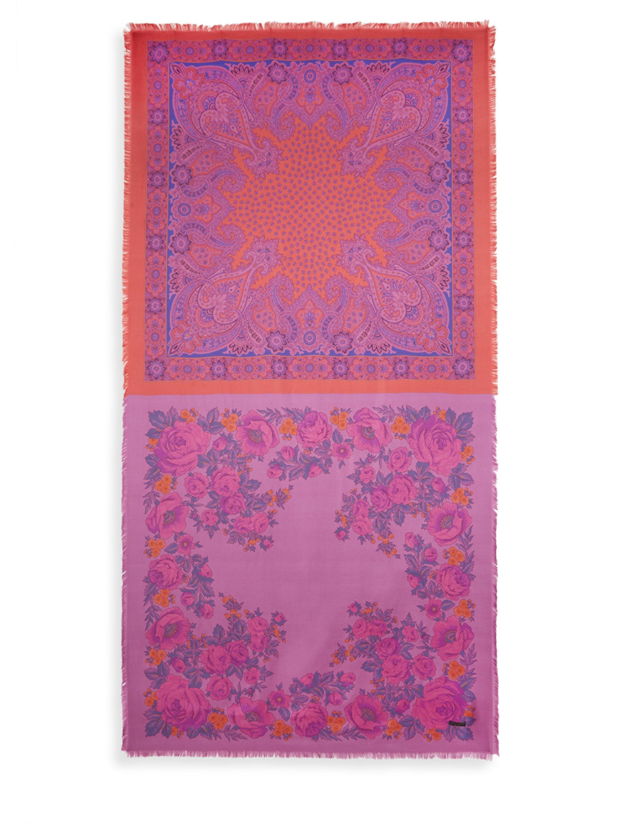 franco danao scarf surfboard silk multi lyst ferrari modal gallery accessories ivory