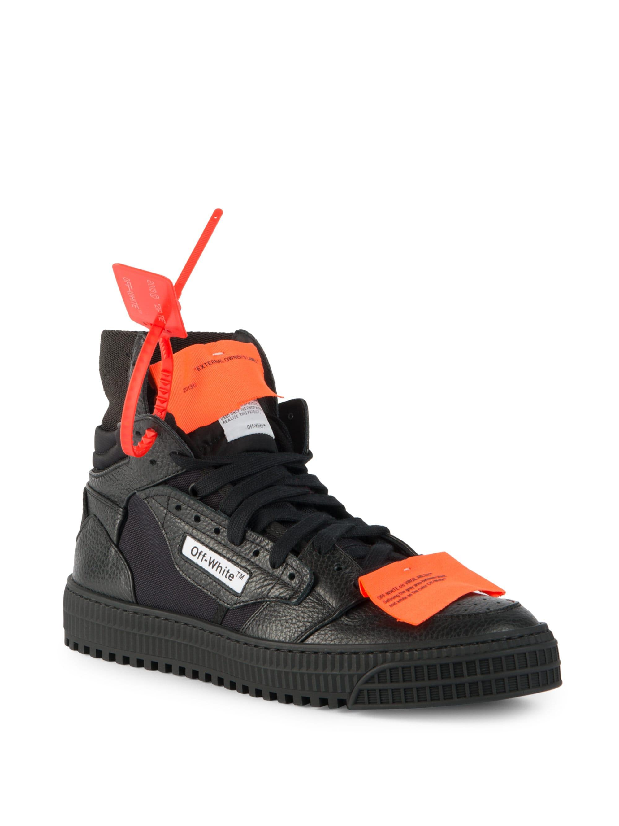 3587f5bafb0c Lyst - Off-White c o Virgil Abloh Low 3.0 Sneakers in Black - Save 43%