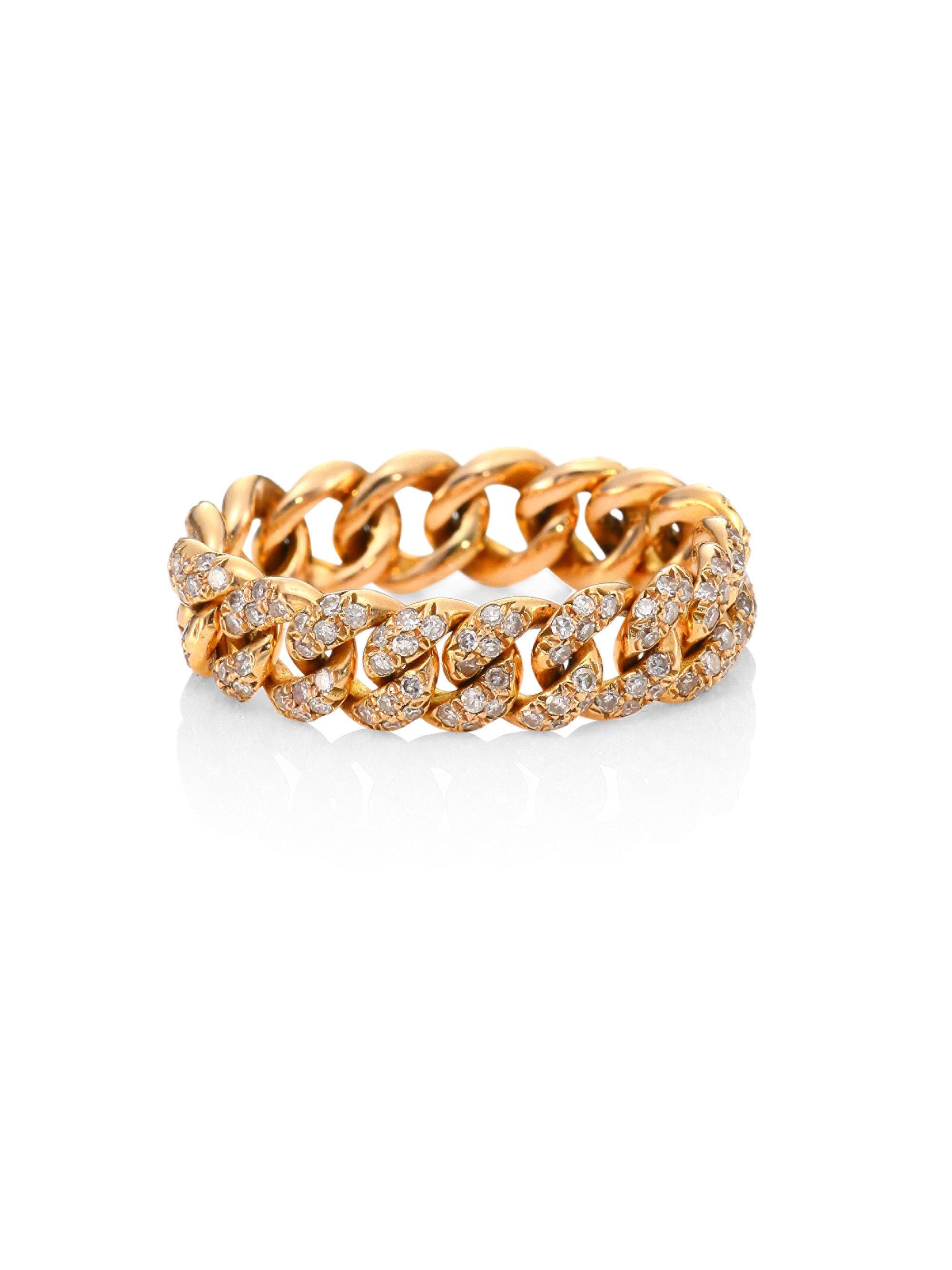 Shay Essential diamond link ring jlZGOfHg