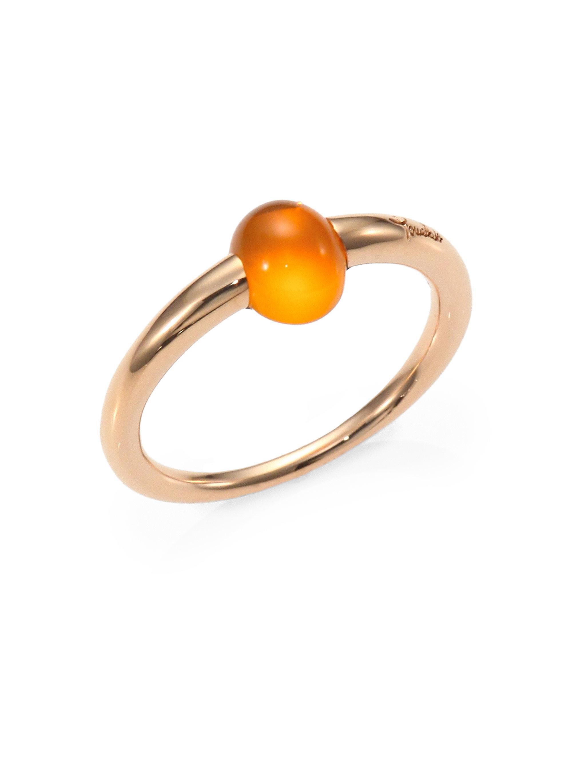 Mama Non Mama 18-karat Rose Gold Moonstone Bracelet - one size POMELLATO e4BDHVGNRX