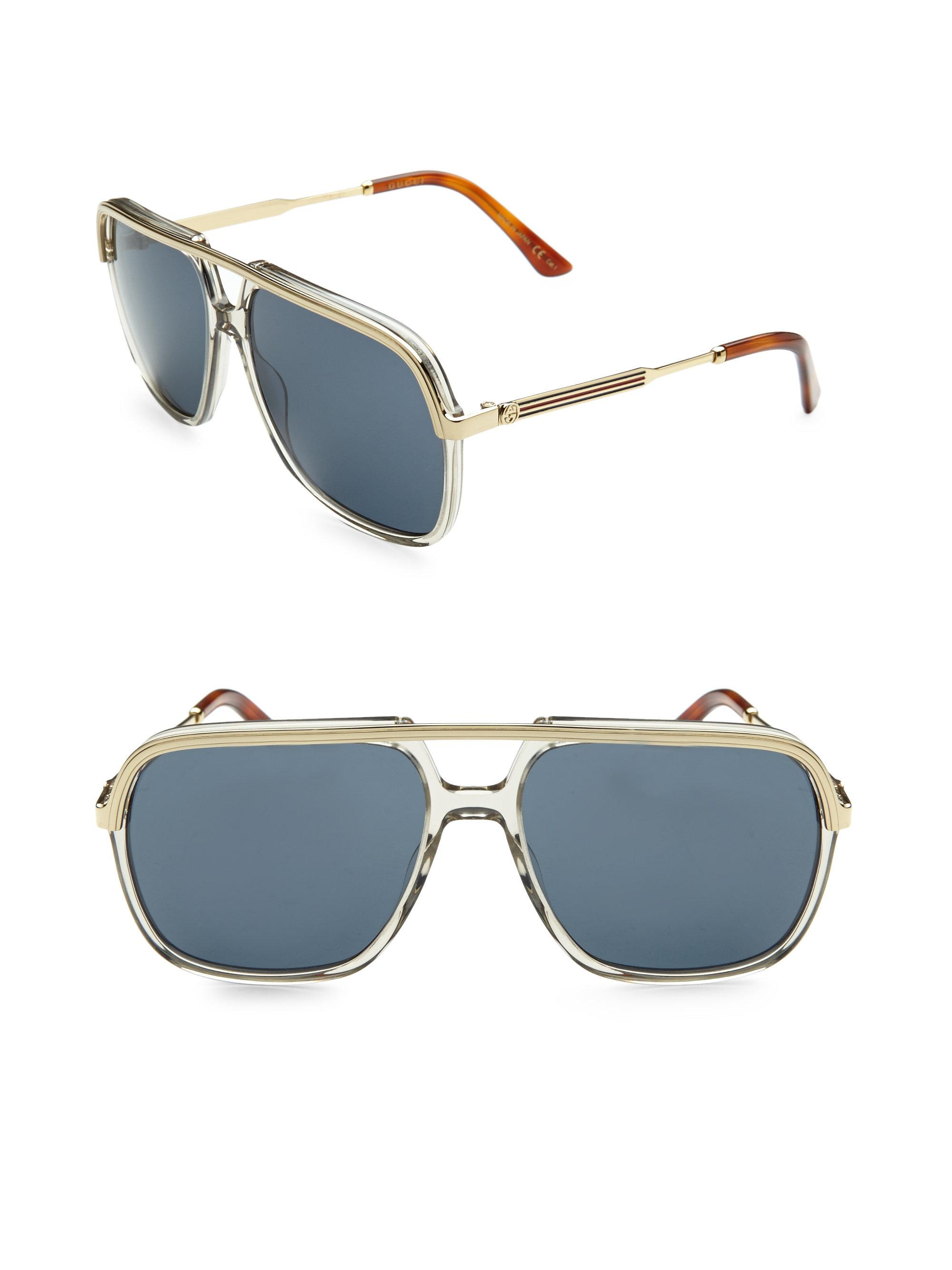 4b408bdfd46 Vintage Gucci Aviator Sunglasses « One More Soul