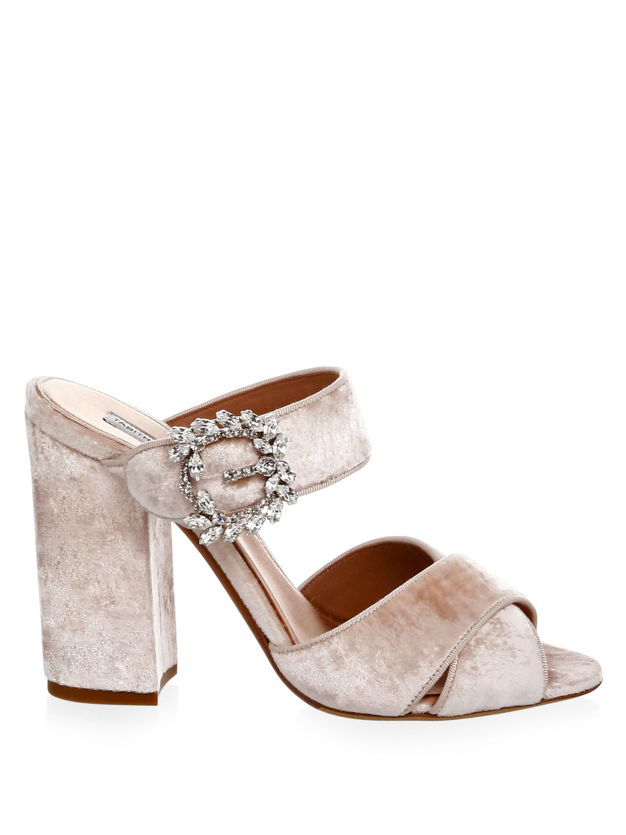 Tabitha Simmons Reyner Buckle Slide Sandals yCxbhsIB