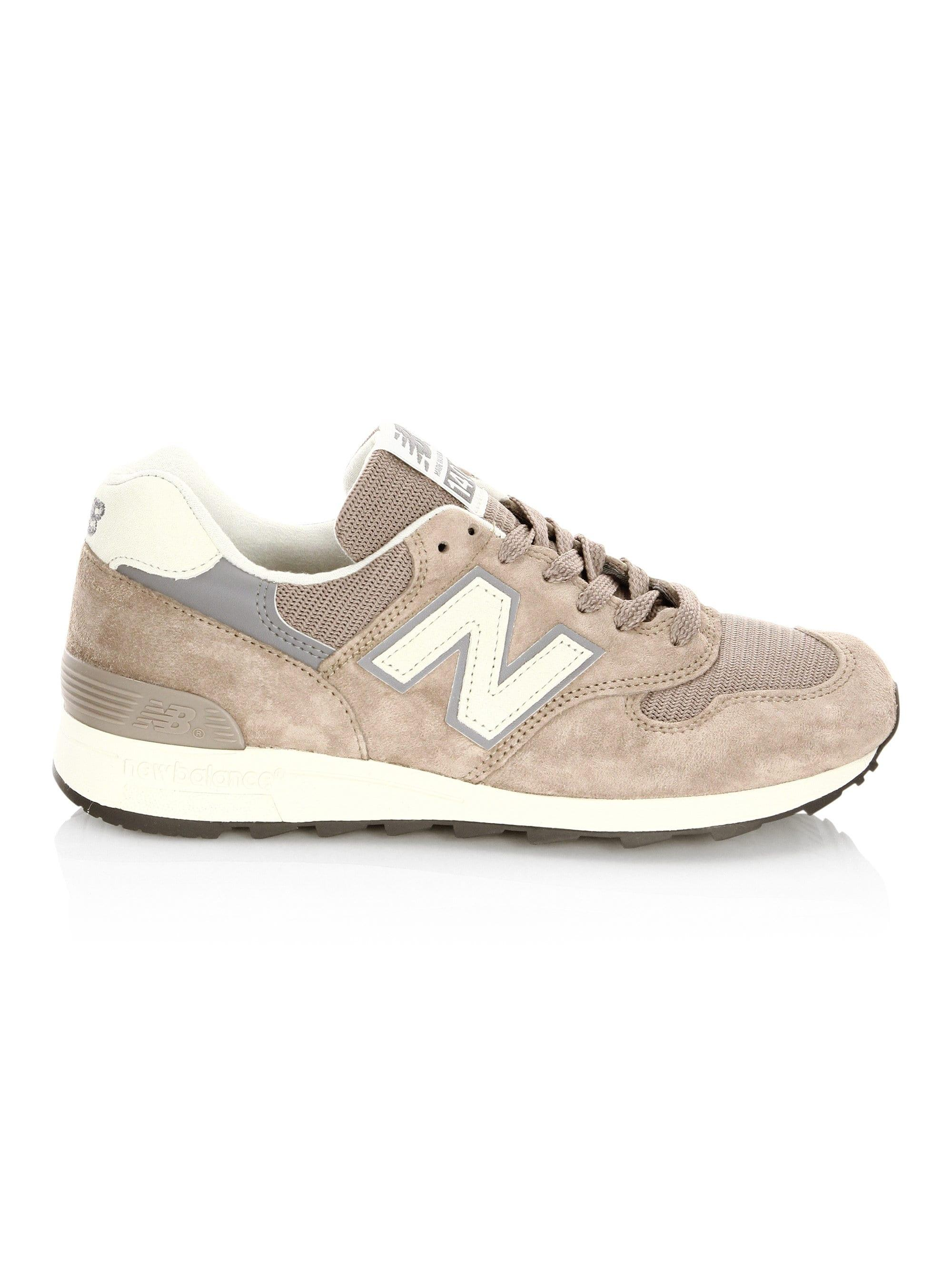 check out 7e55b bbe5c New Balance Men's 1400 Made In Usa Suede Sneakers - Mushroom ...