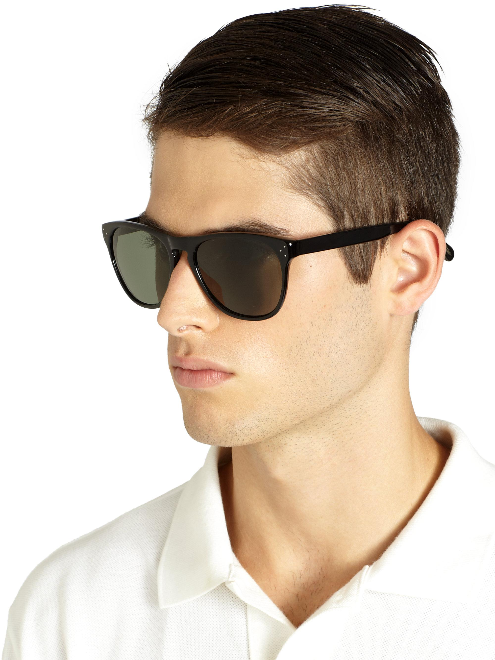 baaffdd929 Oliver Peoples Daddy B Sunglasses in Black - Lyst