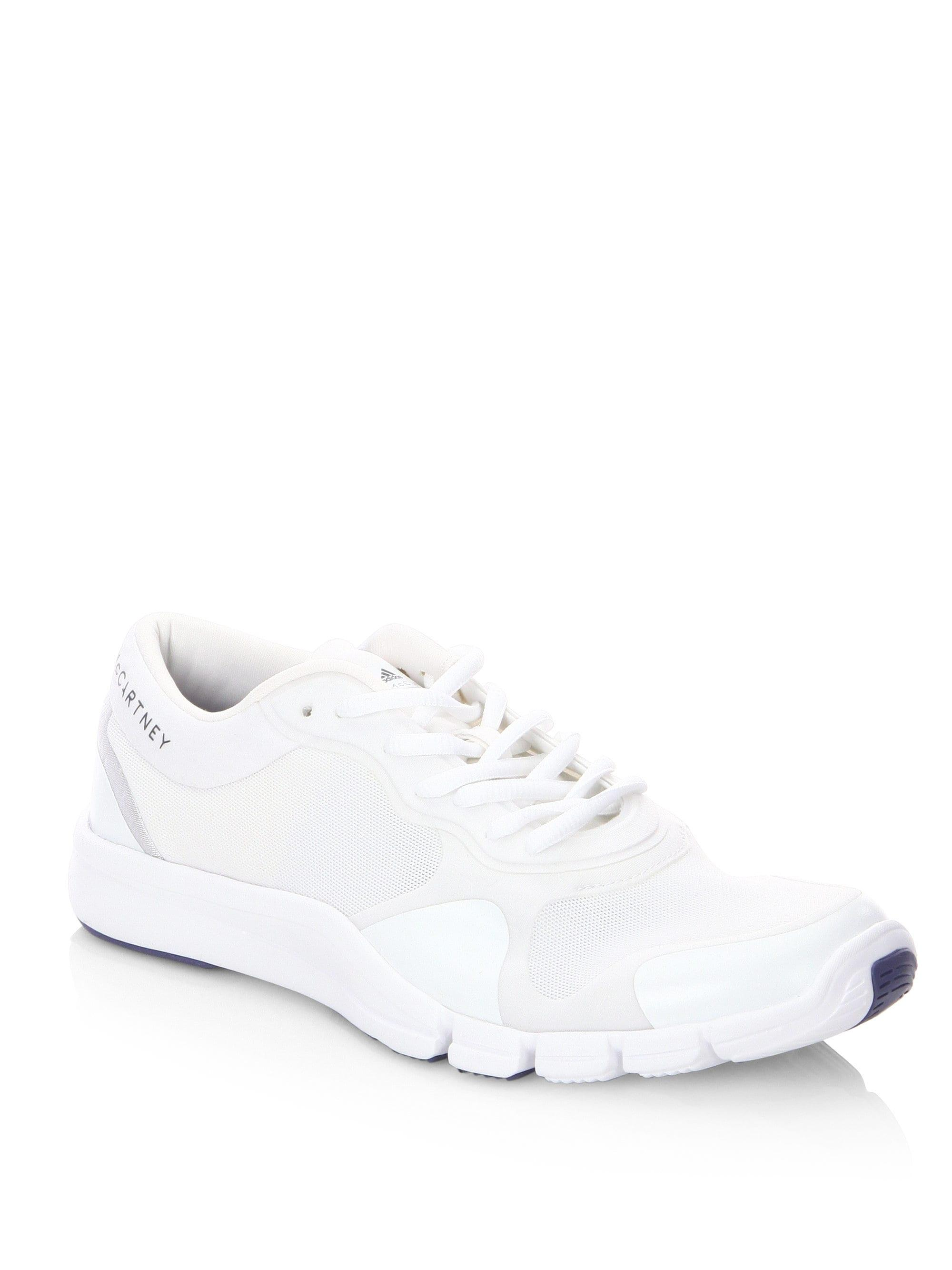 adidas By Stella McCartney Adipure Trainer Sneakers in White - Save ... b1e414912