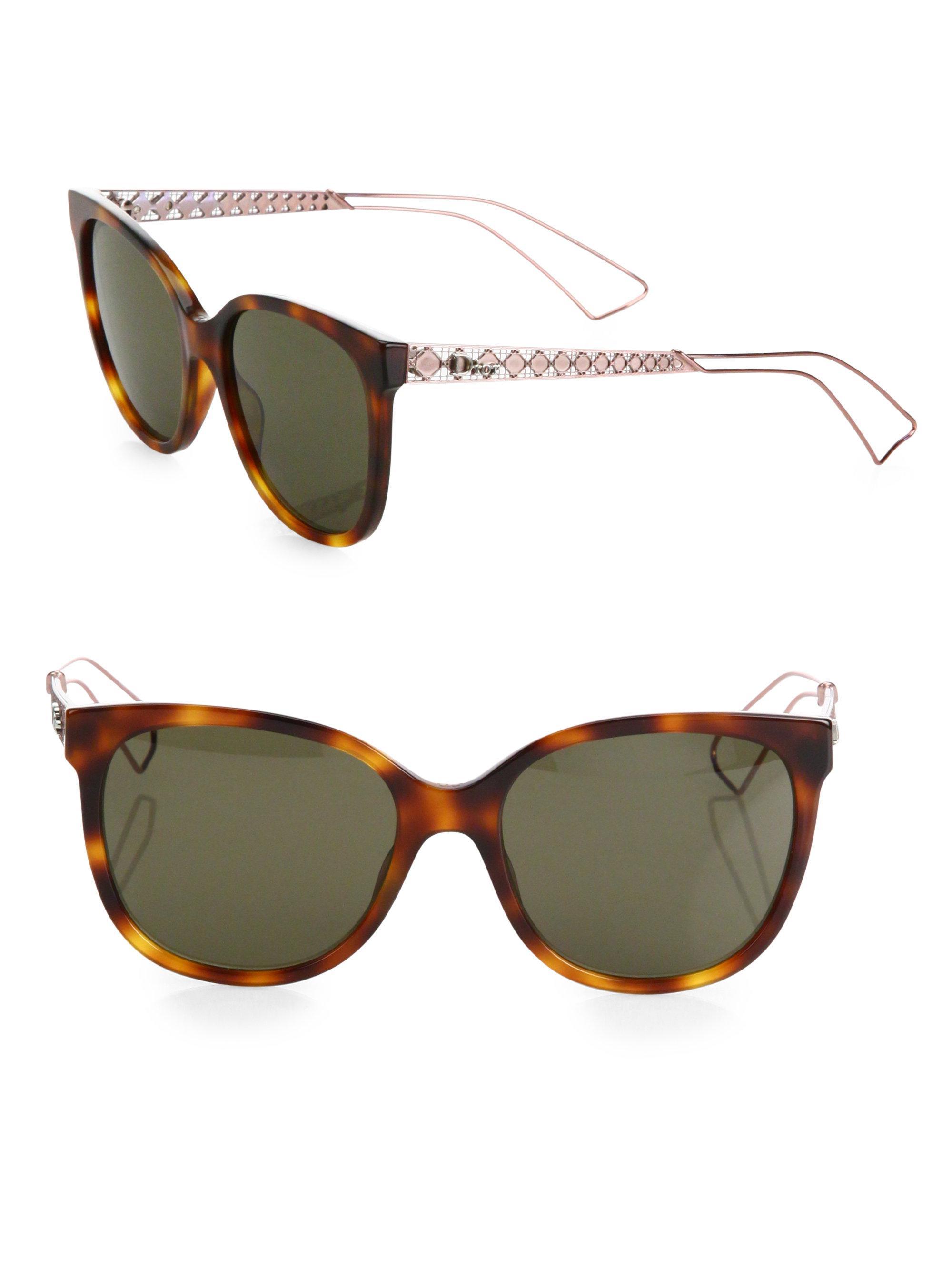 25d31f0a063 Lyst - Dior Ama 3 55mm Square Sunglasses