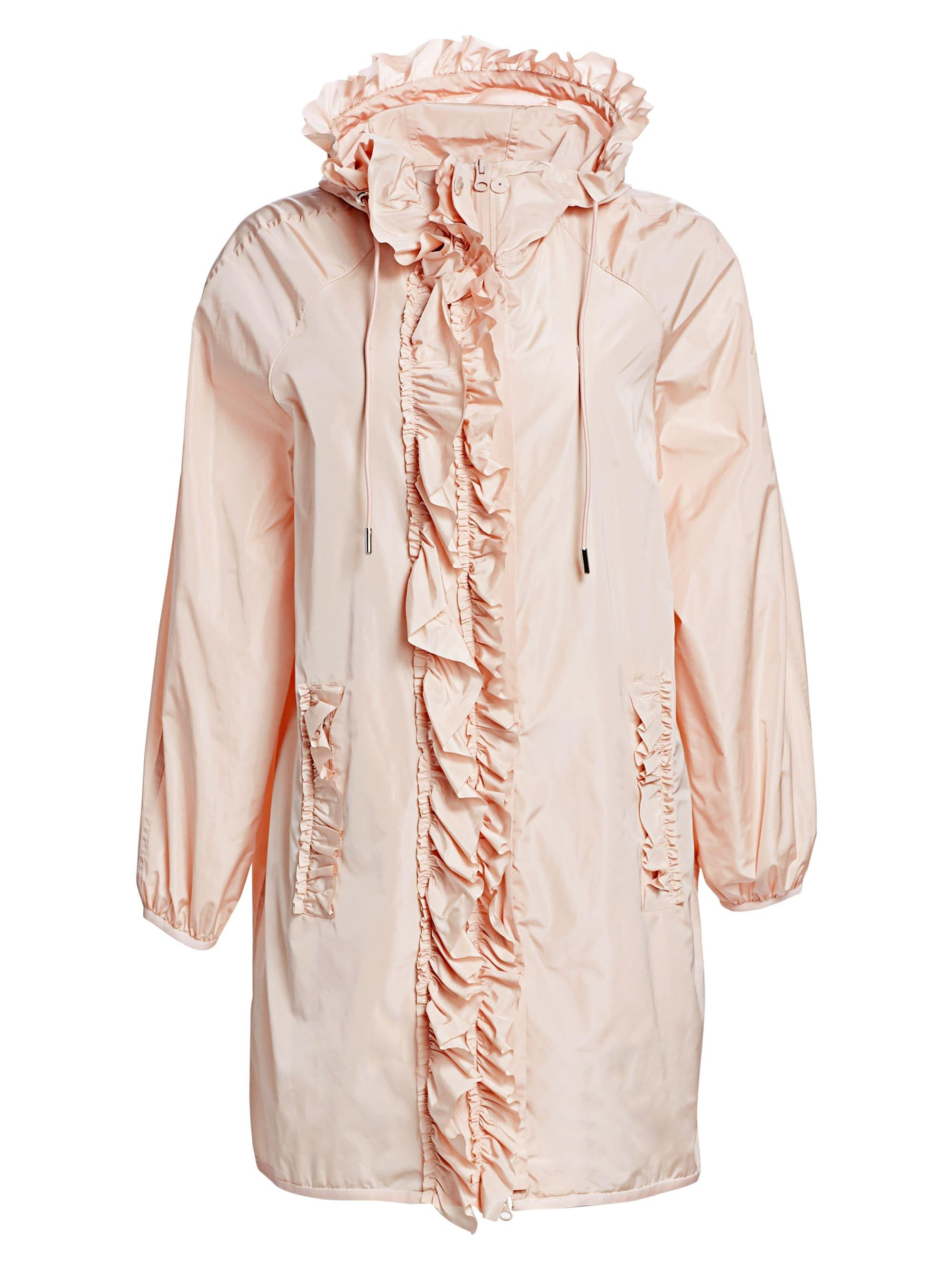 b43a5484b909 Lyst - Moncler Genius 4 Moncler Simone Rocha Ruffled Jacket in Pink
