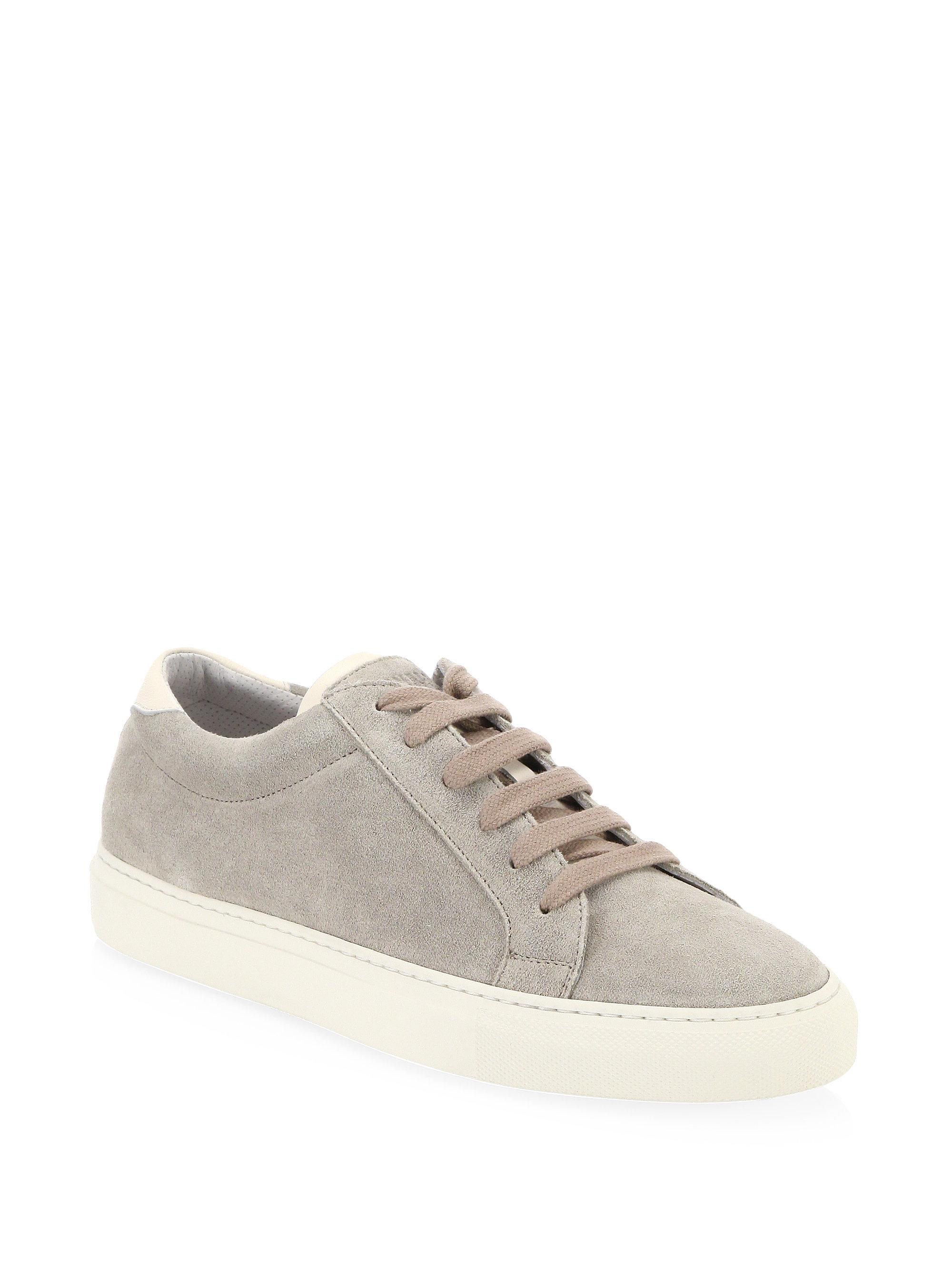 Velvet and suede sneakers Brunello Cucinelli KVXA2cHu9f