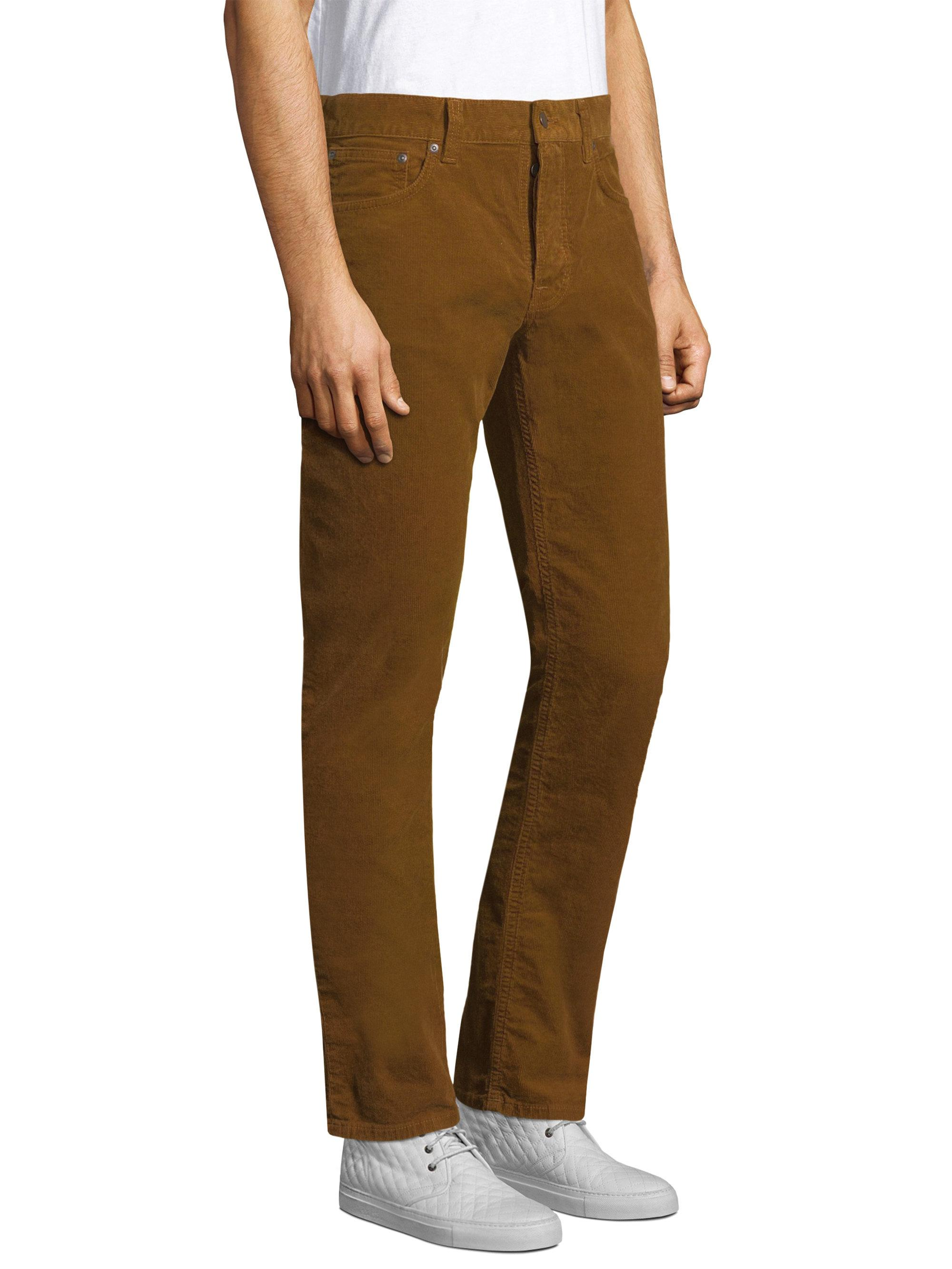 0d99778a Nudie Jeans Lion Skinny Corduroy Trousers in Brown for Men - Lyst