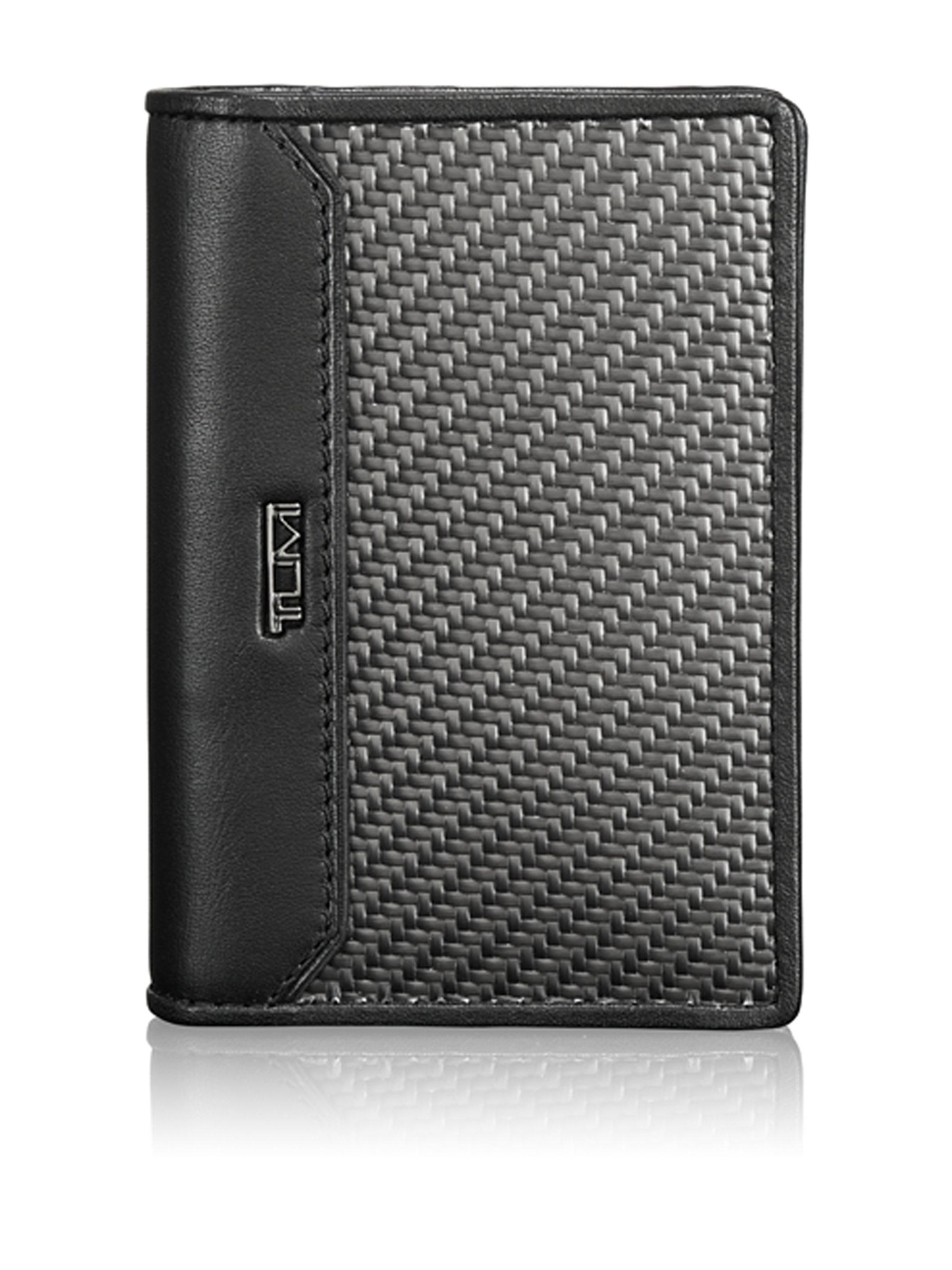 Lyst - Tumi Cfx Carbon Fiber Gusseted Card Case in Black for Men