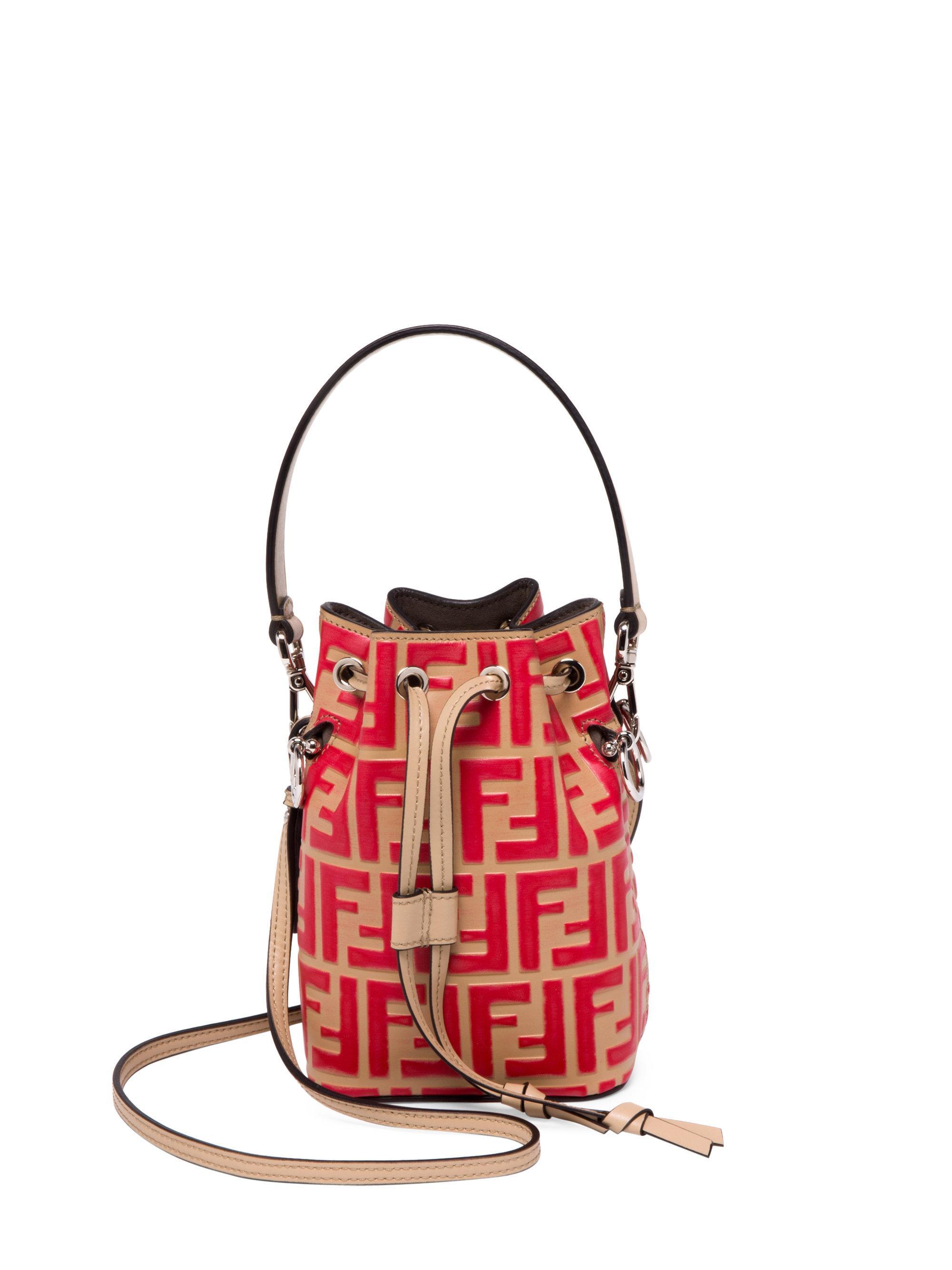 d34f7326494e Fendi Red Strap Bag