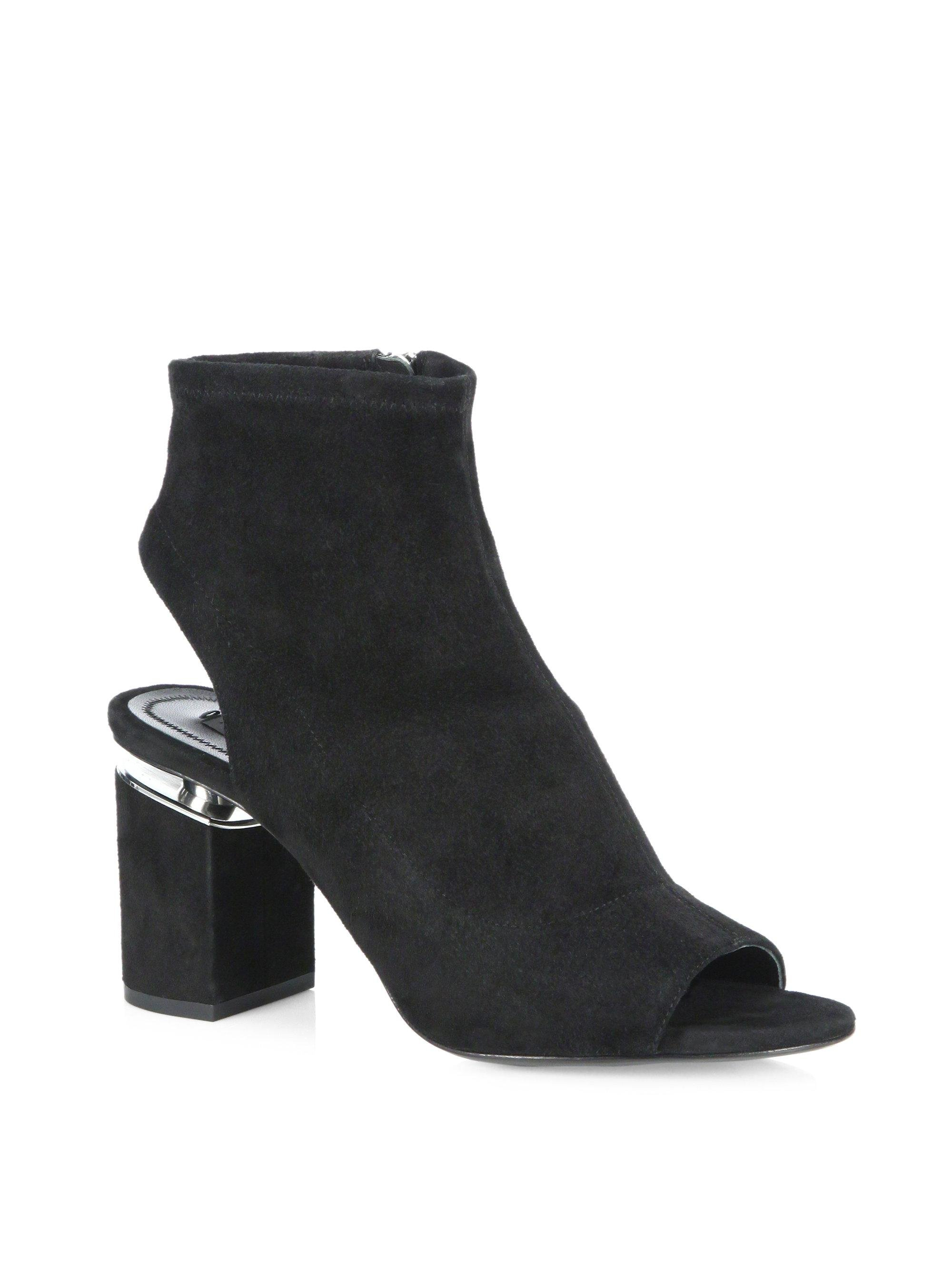 buy cheap 100% guaranteed Alexander Wang Ponyhair Mid-Calf Booties original sale online find great cheap price discount for sale OVAMLHeHpQ