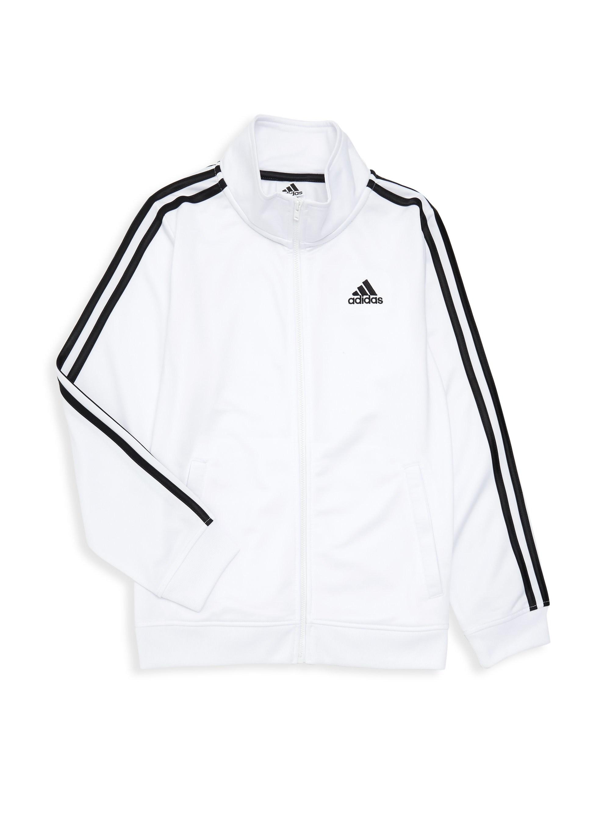 b017a39dd adidas Little Boy's Iconic Tricot Jacket in White for Men - Lyst