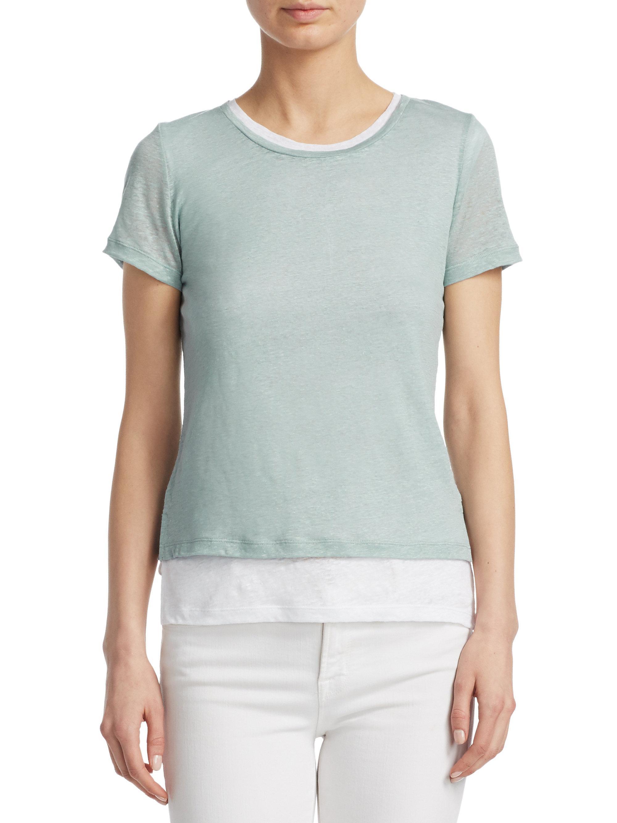 Majestic Filatures Woman Striped Slub Linen-jersey T-shirt Off-white Size 5 Majestic Filatures Clearance Shop Offer 100% Guaranteed New Arrival Deals gURCMzhu