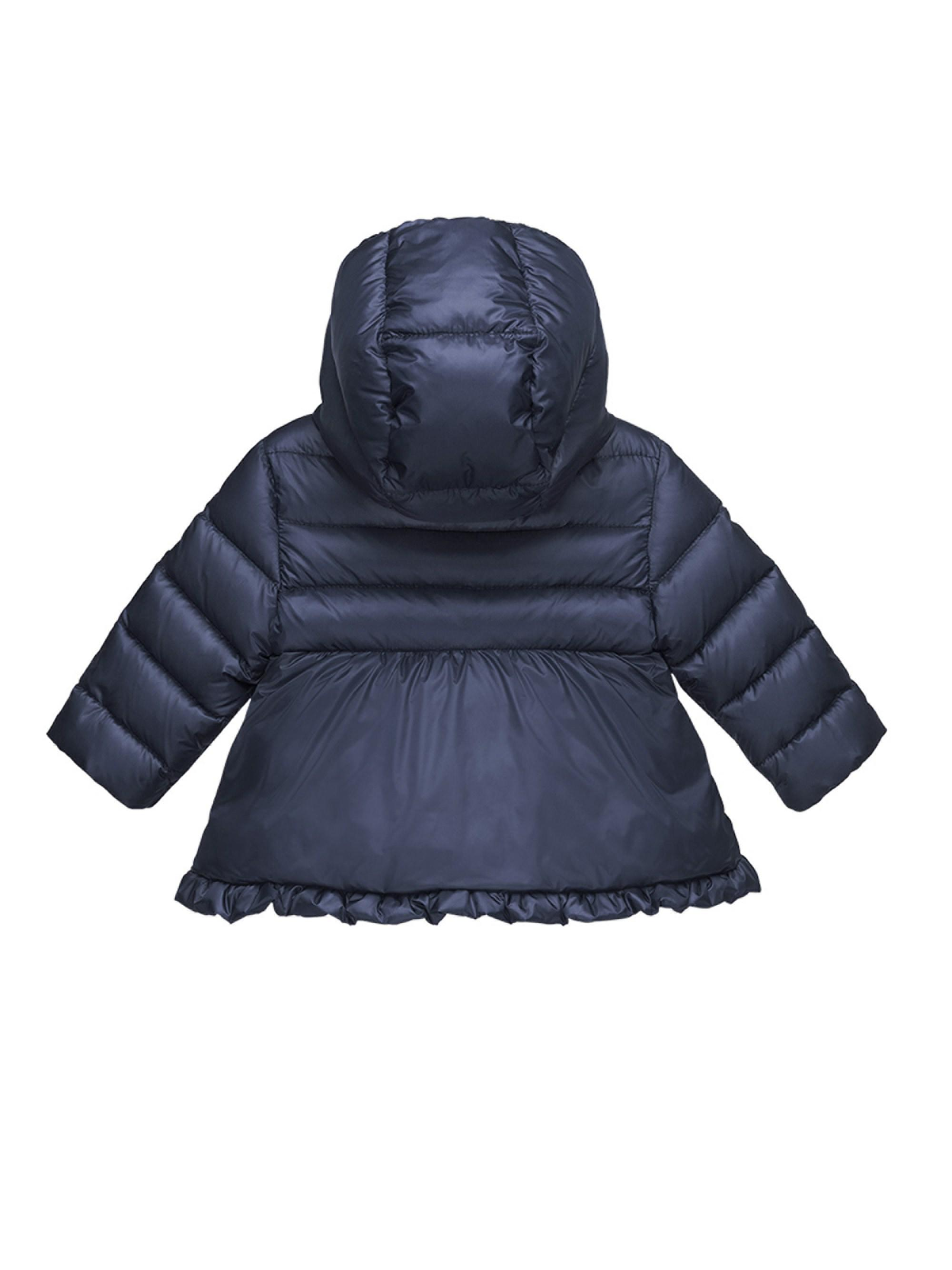 32a524139 Moncler Baby Girl's Odile Puffer Jacket in Blue - Lyst